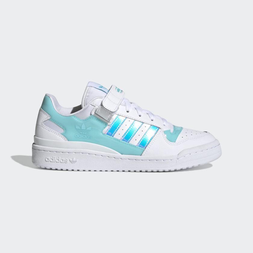 adidas Originals Forum Low Iridescent 'Cloud White Pulse Aqua'