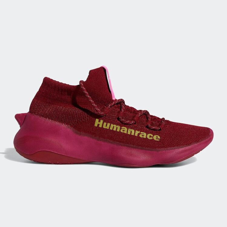 adidas x Pharrell Williams Humanrace Sichona 'Collegiate Burgundy'