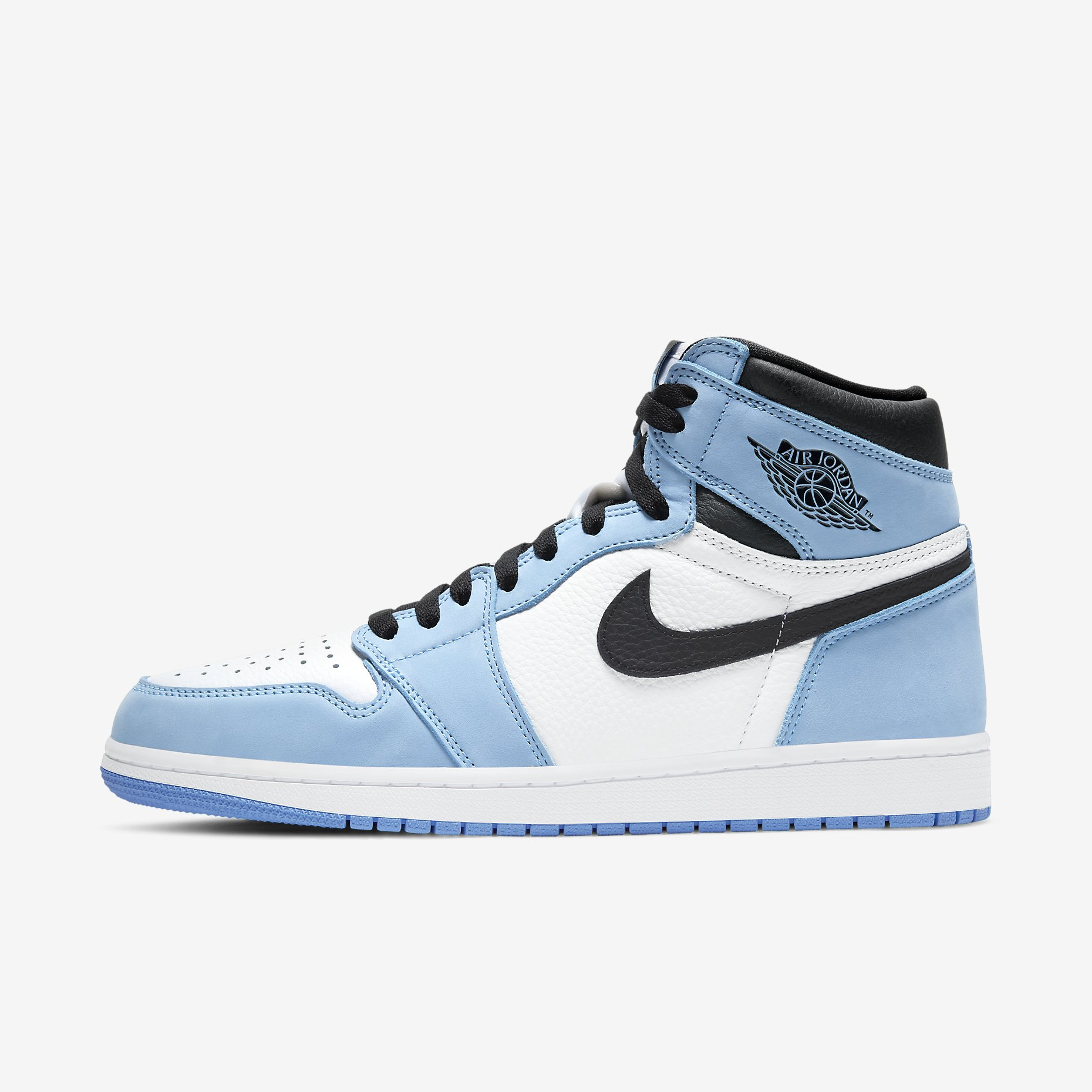 Air Jordan 1 Retro High OG 'University Blue'}
