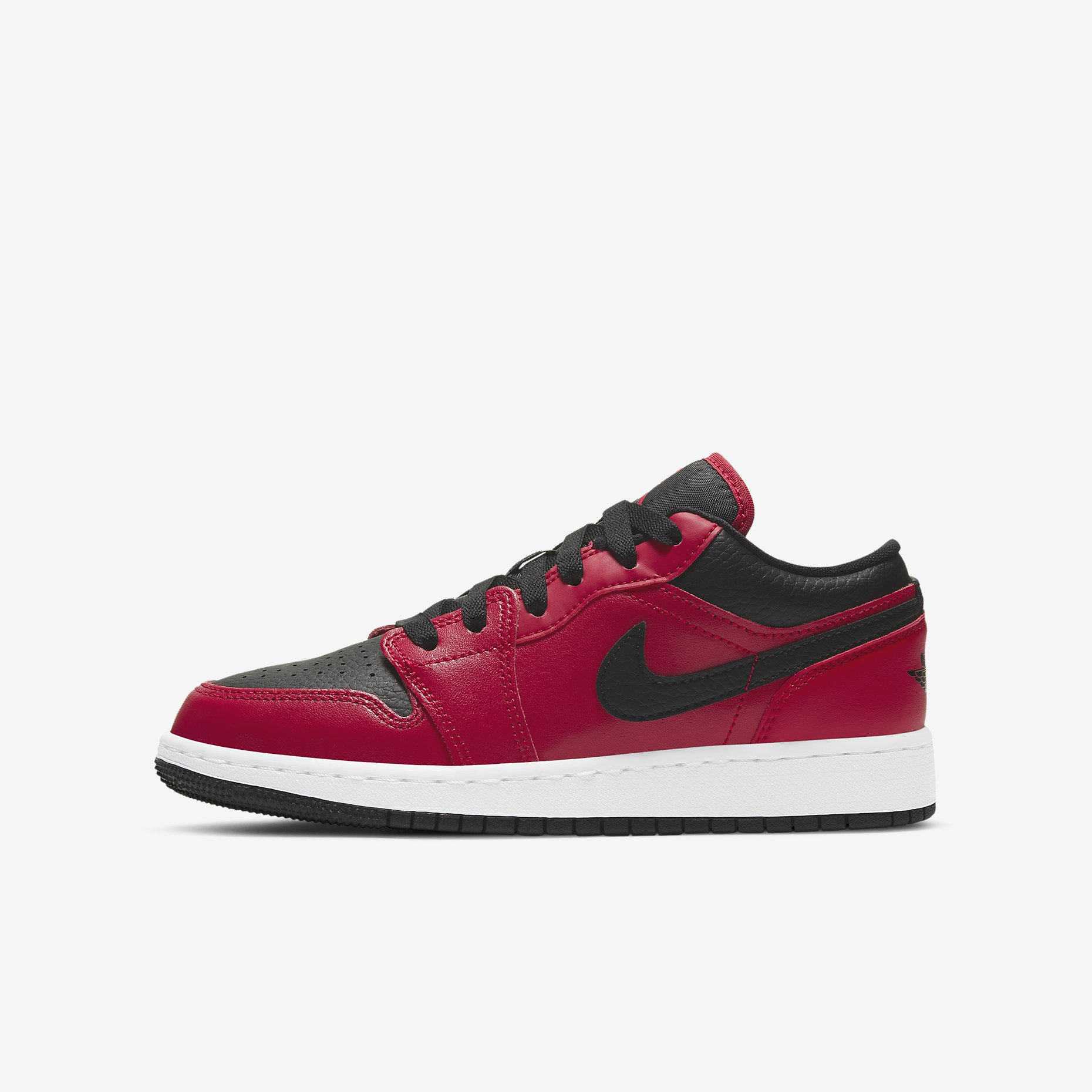 Air Jordan 1 Low GS 'Gym Red/Black'}