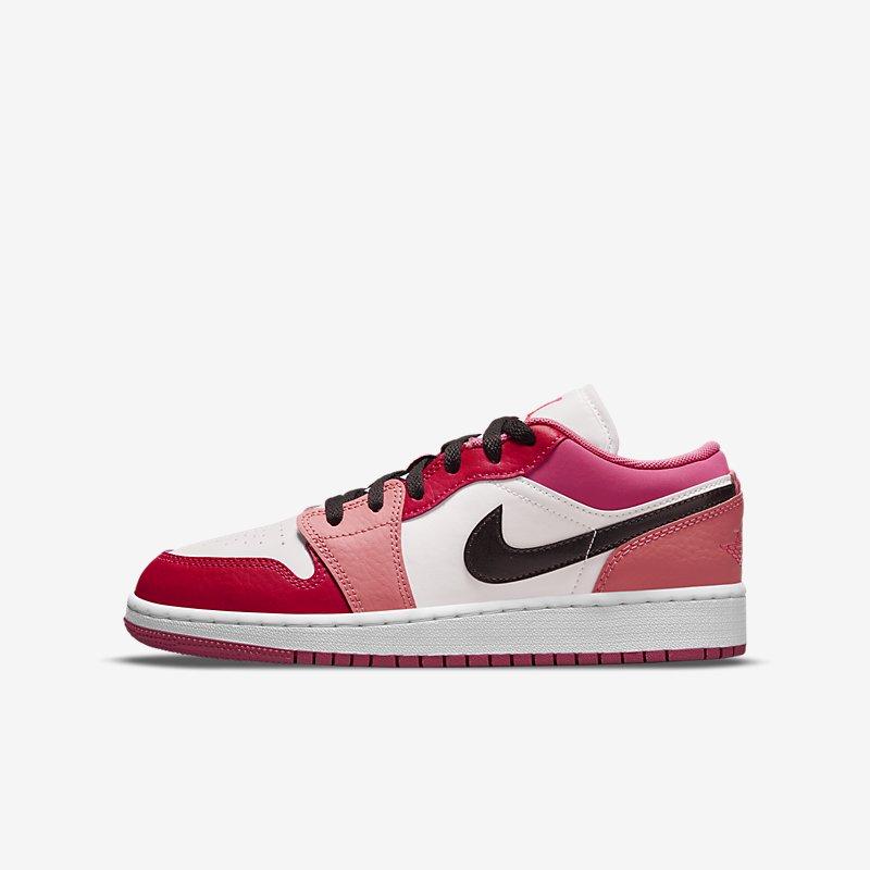 Air Jordan 1 Low GS 'Pinksicle/Rush Pink'