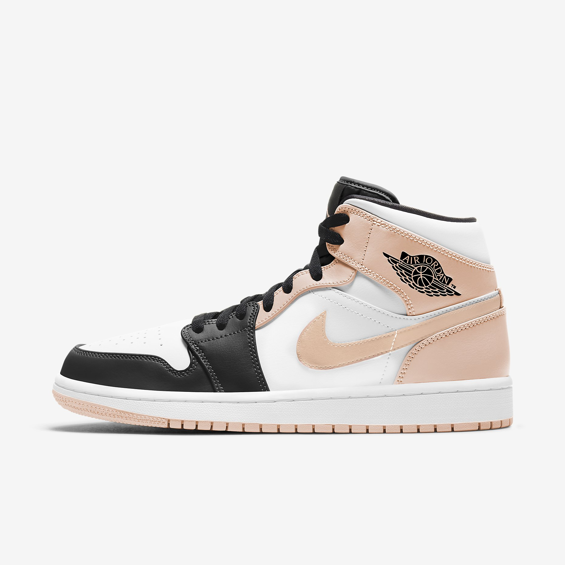 Air Jordan 1 Mid 'Arctic Orange'}
