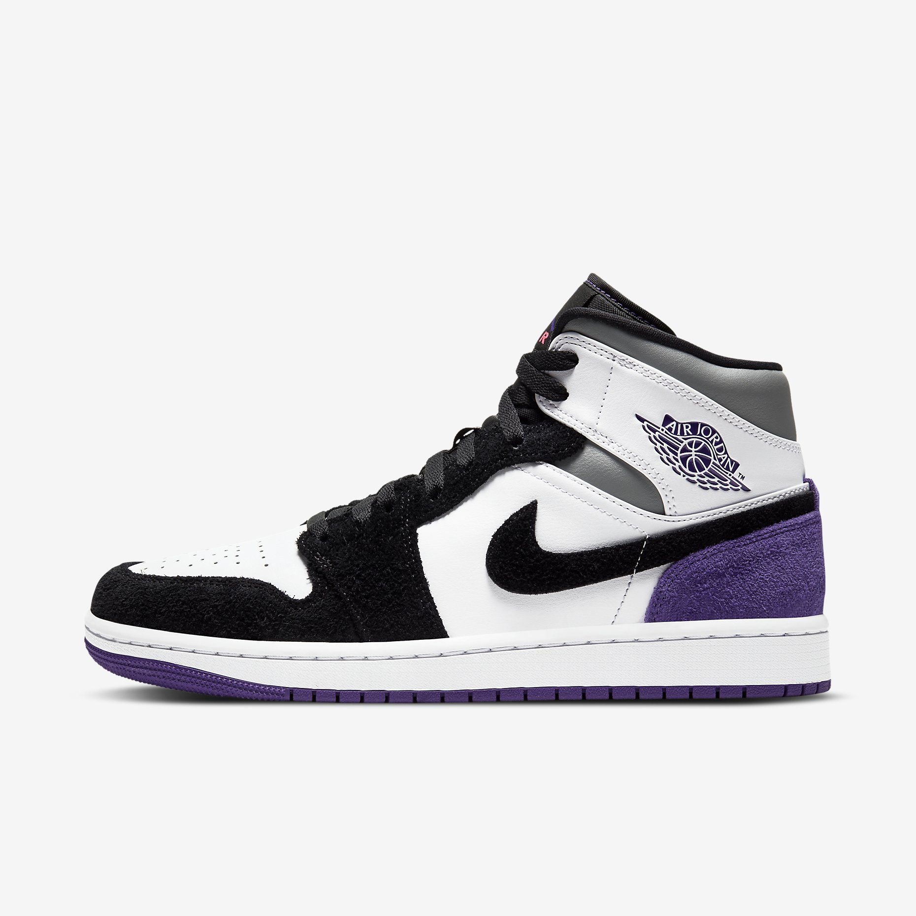 Air Jordan 1 Mid SE 'Court Purple'}