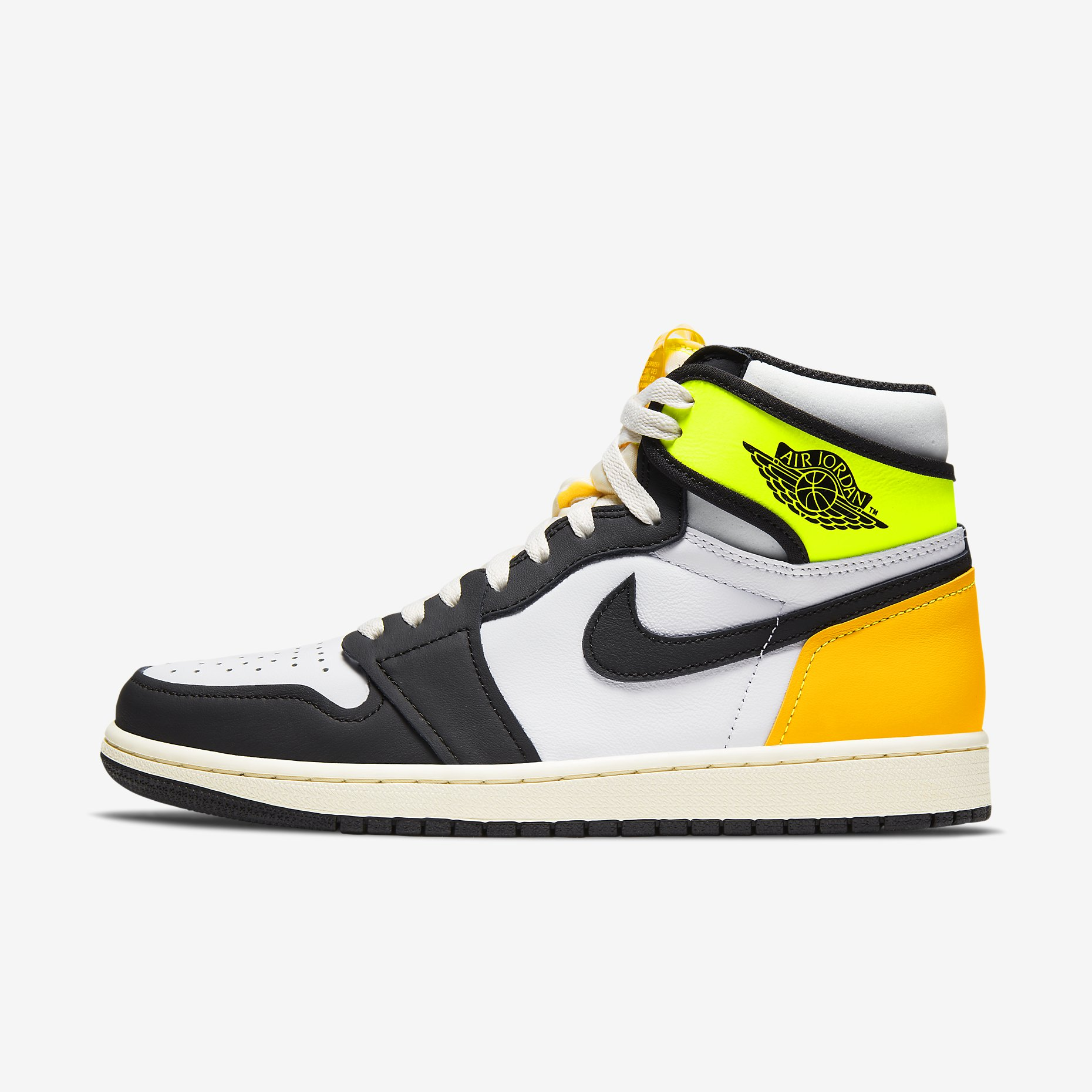 Air Jordan 1 Retro High OG 'Volt Gold'}