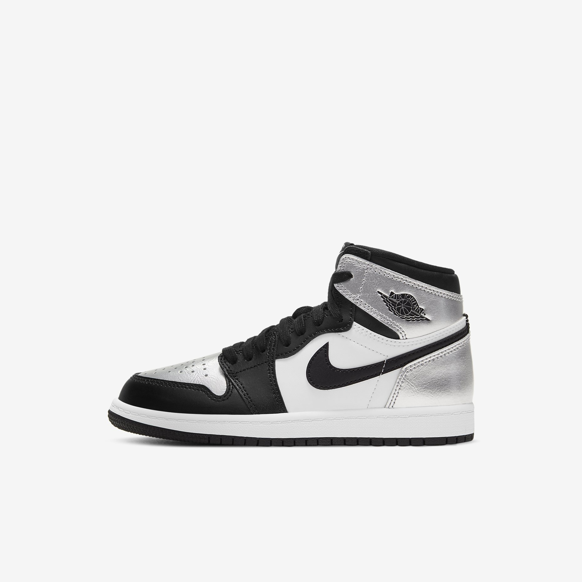 Air Jordan 1 Retro High PS 'Silver Toe'}