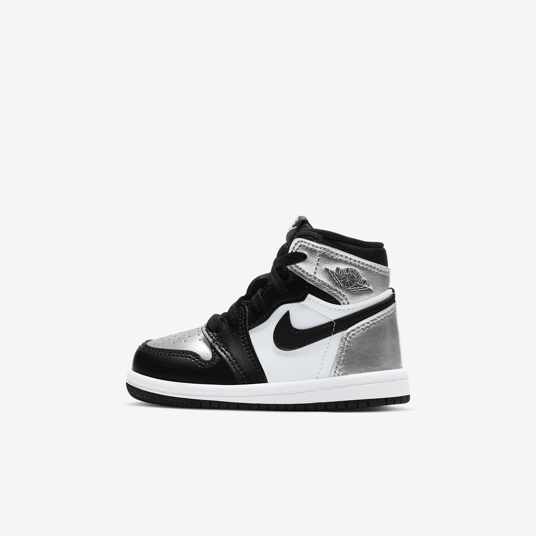 Air Jordan 1 Retro High TD 'Silver Toe'}
