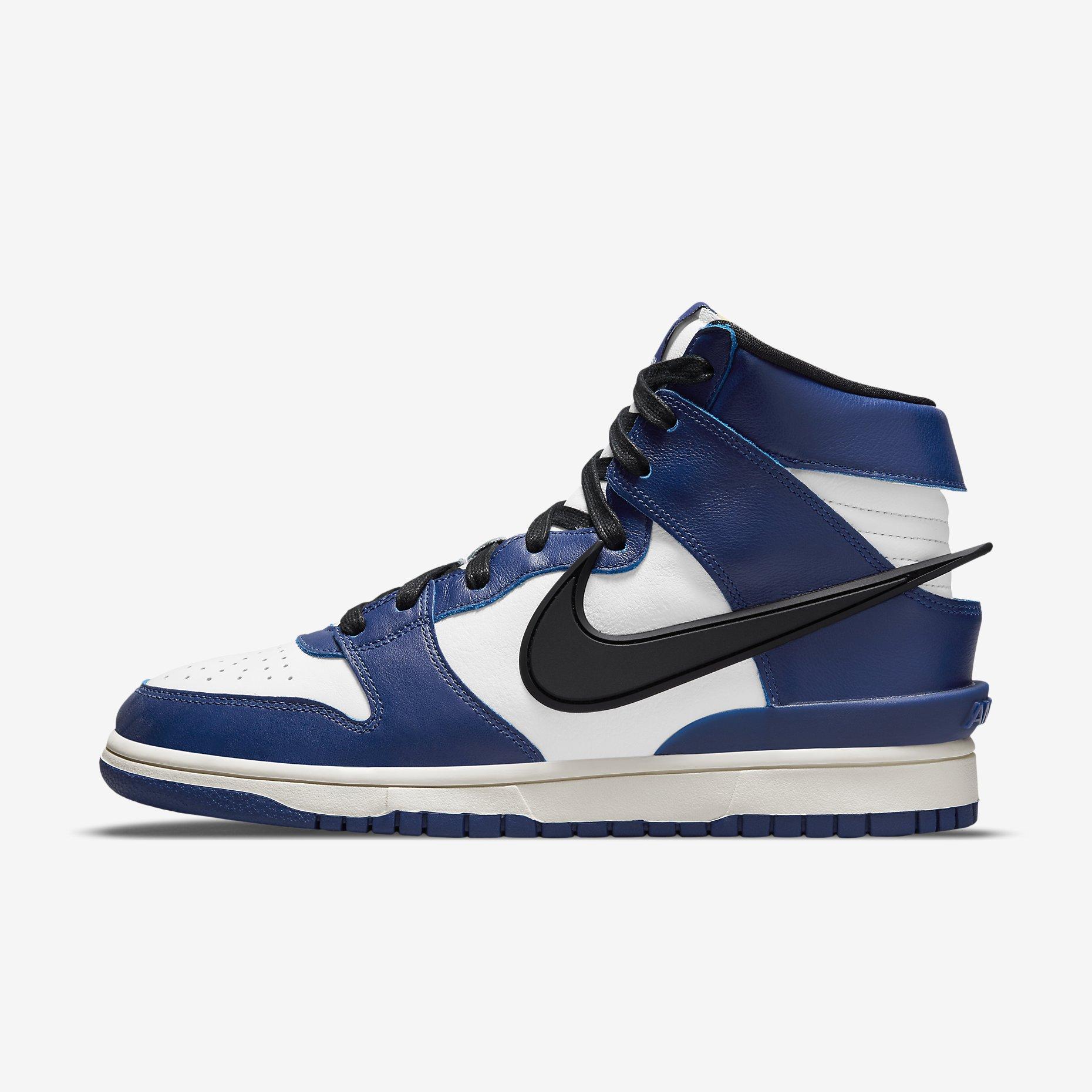 Ambush x Nike Dunk High 'Deep Royal Blue'}