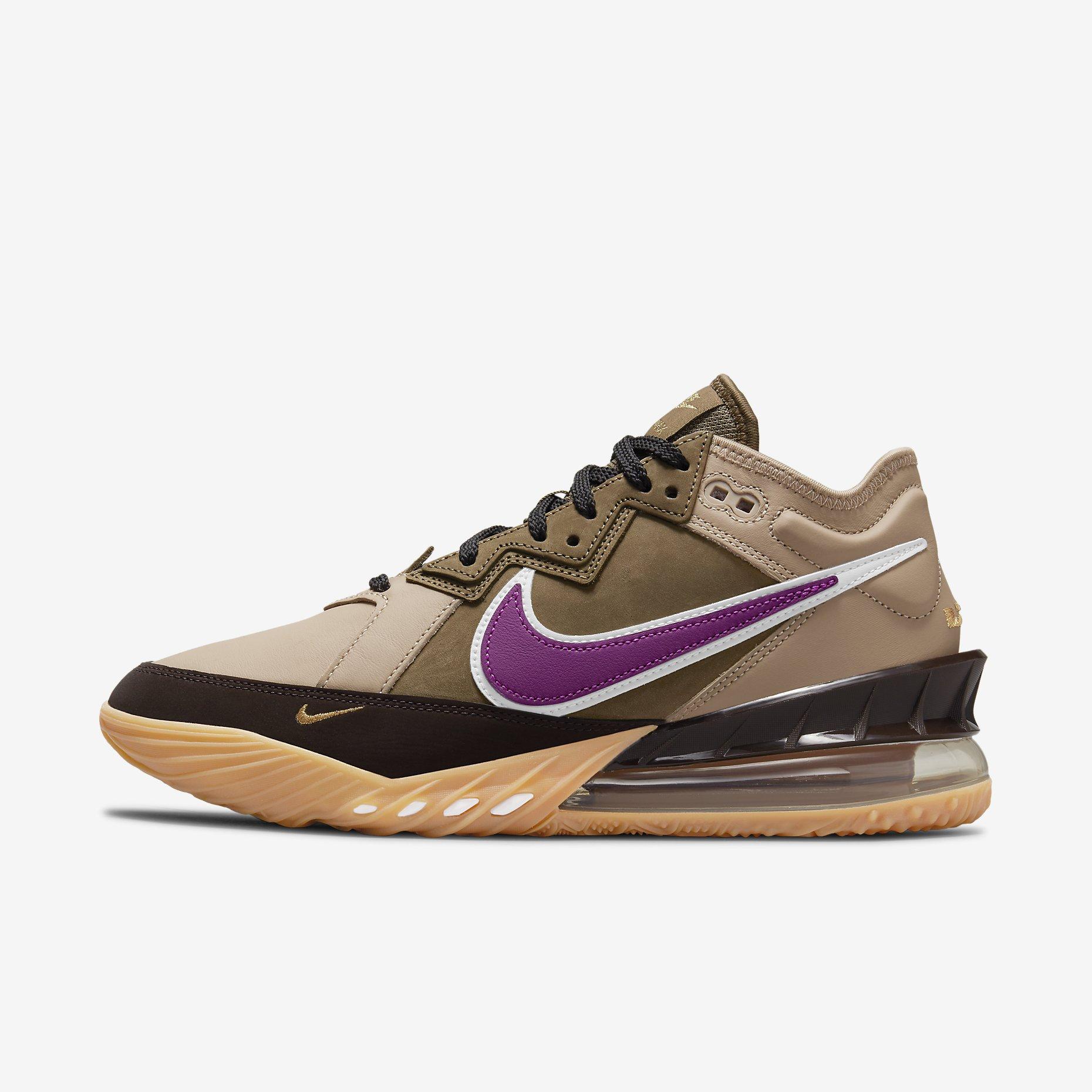 Atmos x Nike LeBron 18 Low 'Viotech'}