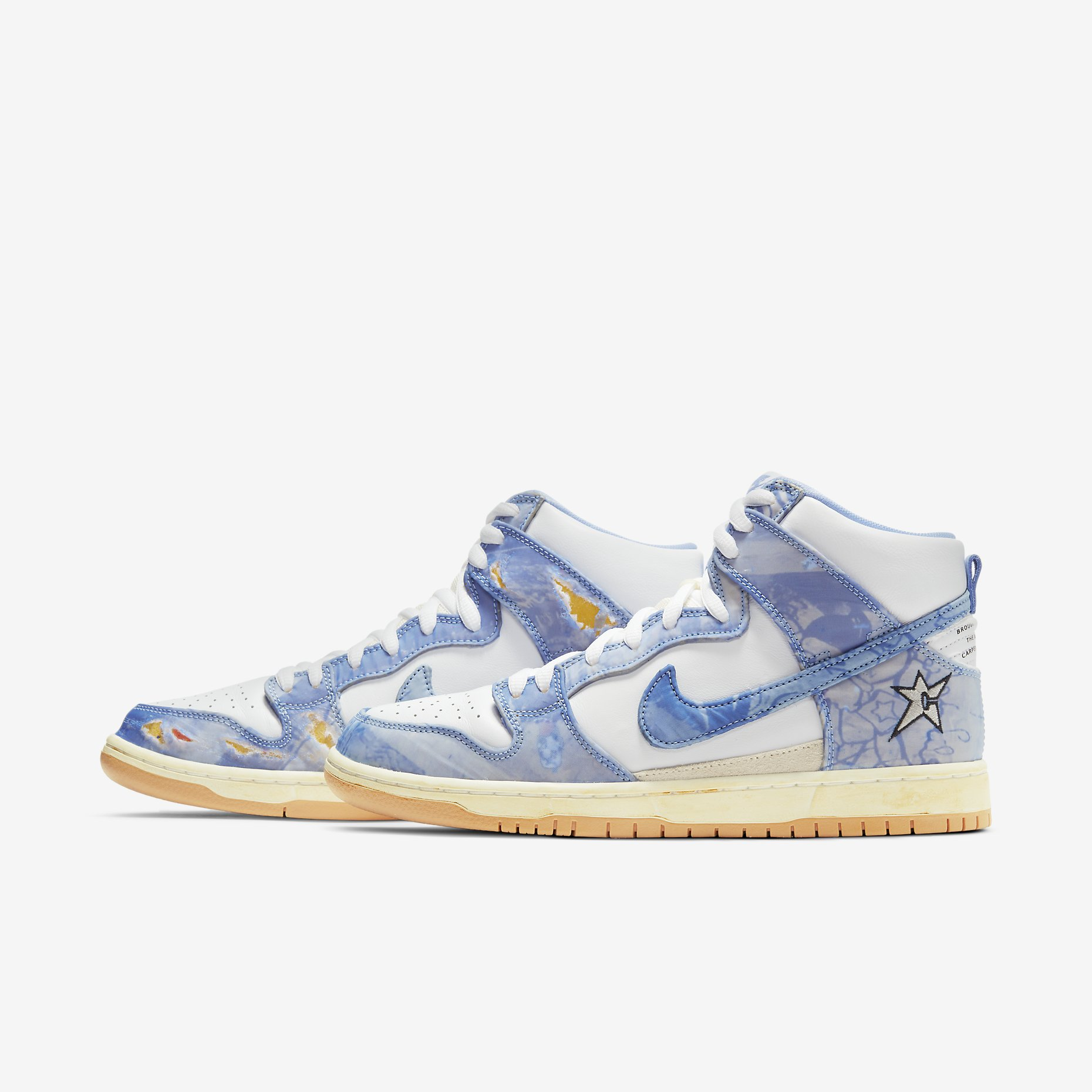 Carpet Company x Nike SB Dunk High 'Royal Pulse'}
