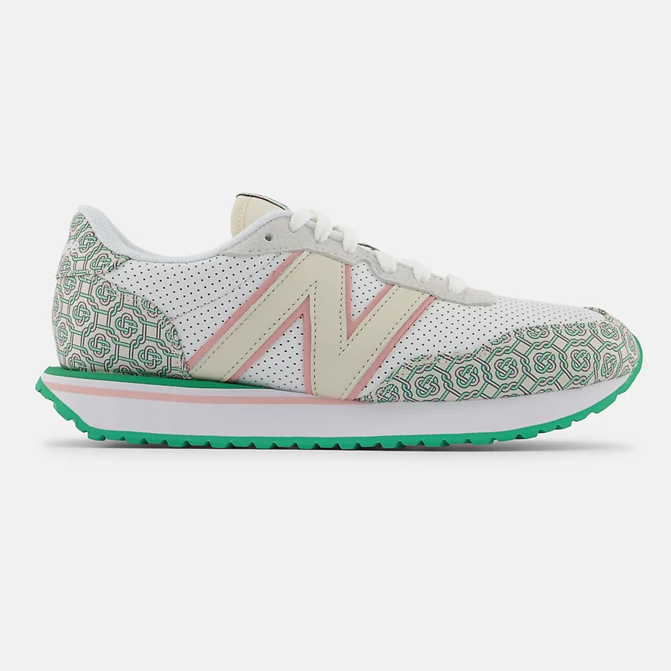 Casablanca x New Balance 237 'Munsell White Holly Green'}