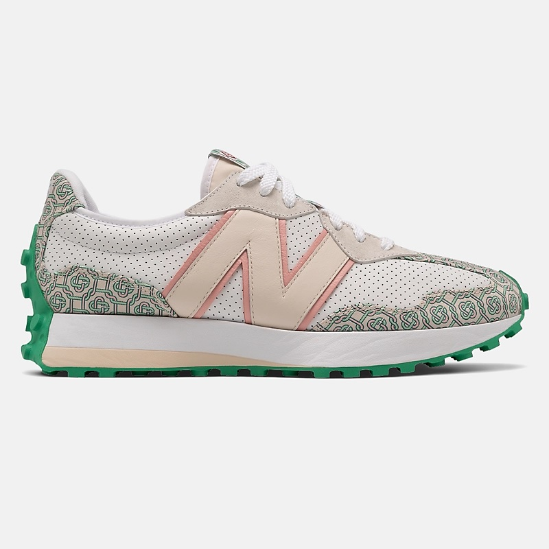 Casablanca x New Balance 327 'Munsell White Holly Green'}
