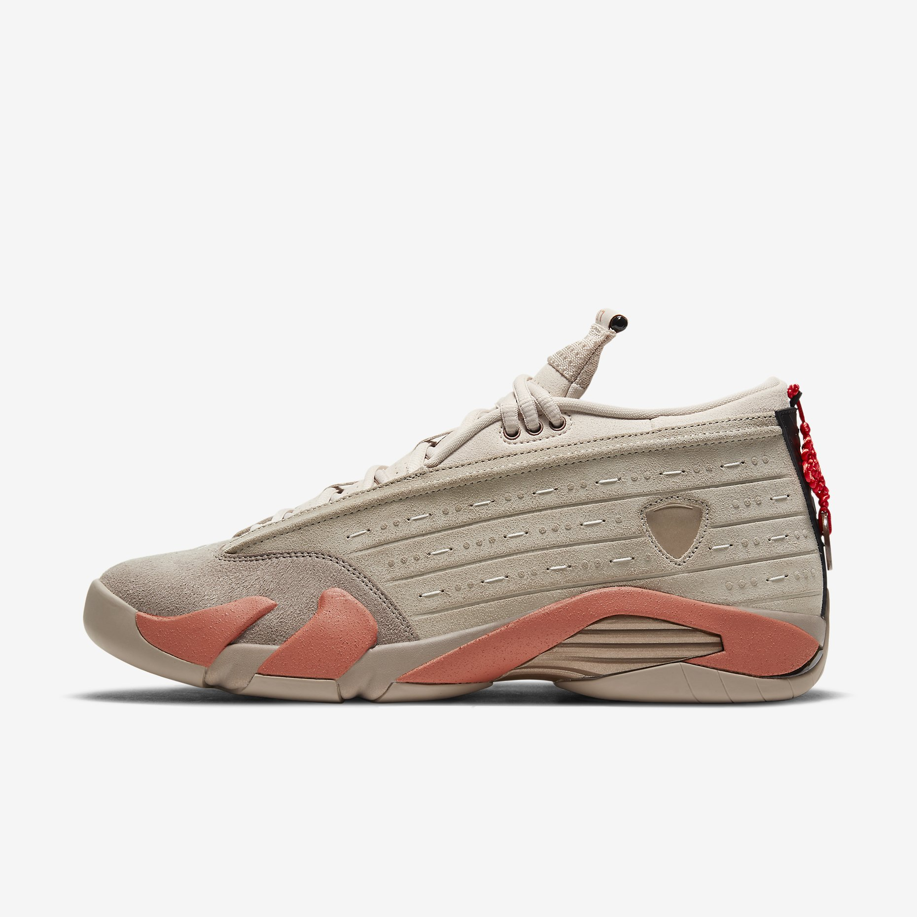 CLOT x Air Jordan 14 Retro Low 'Terracotta'}