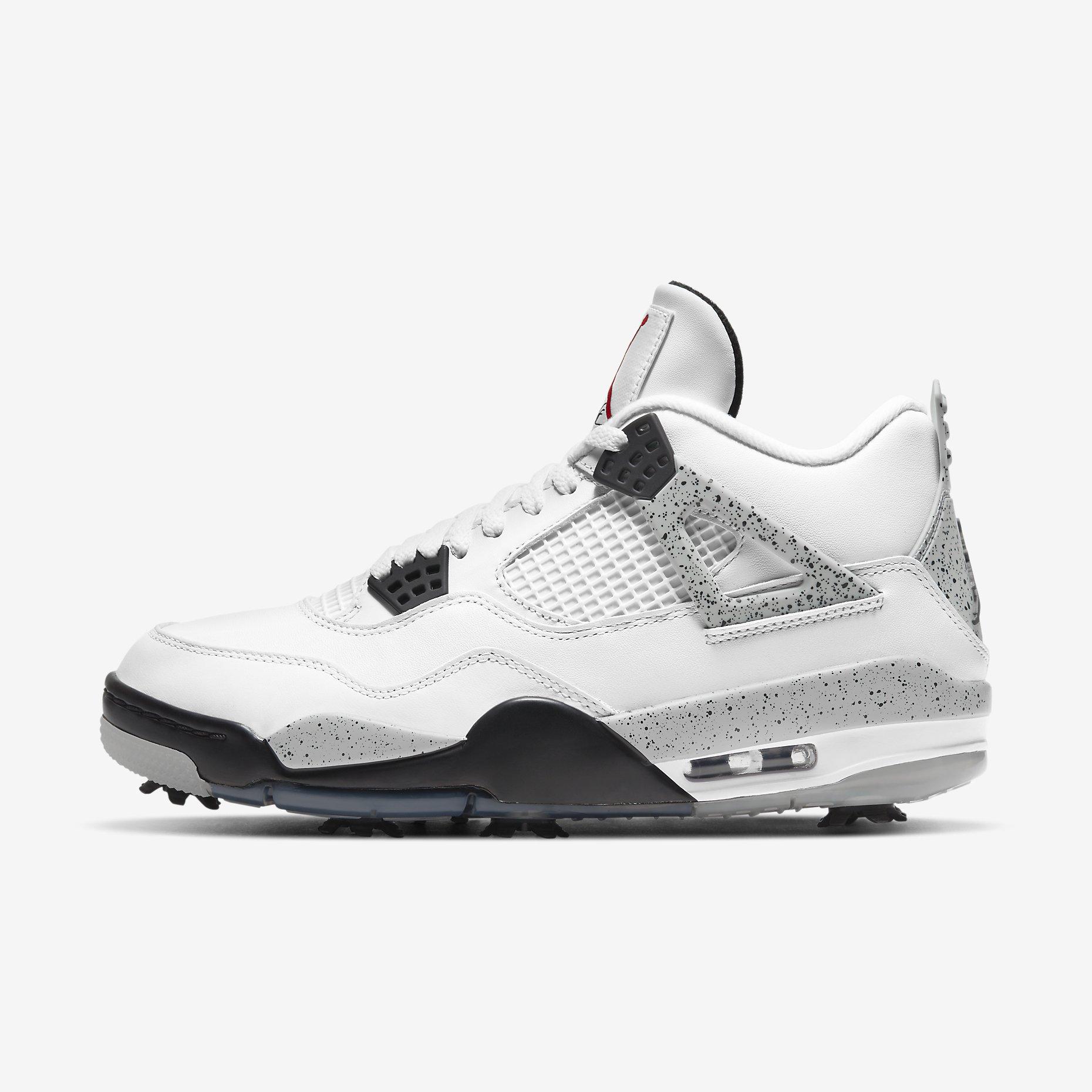 Golf's Air Jordan IV Retro 'White Cement'