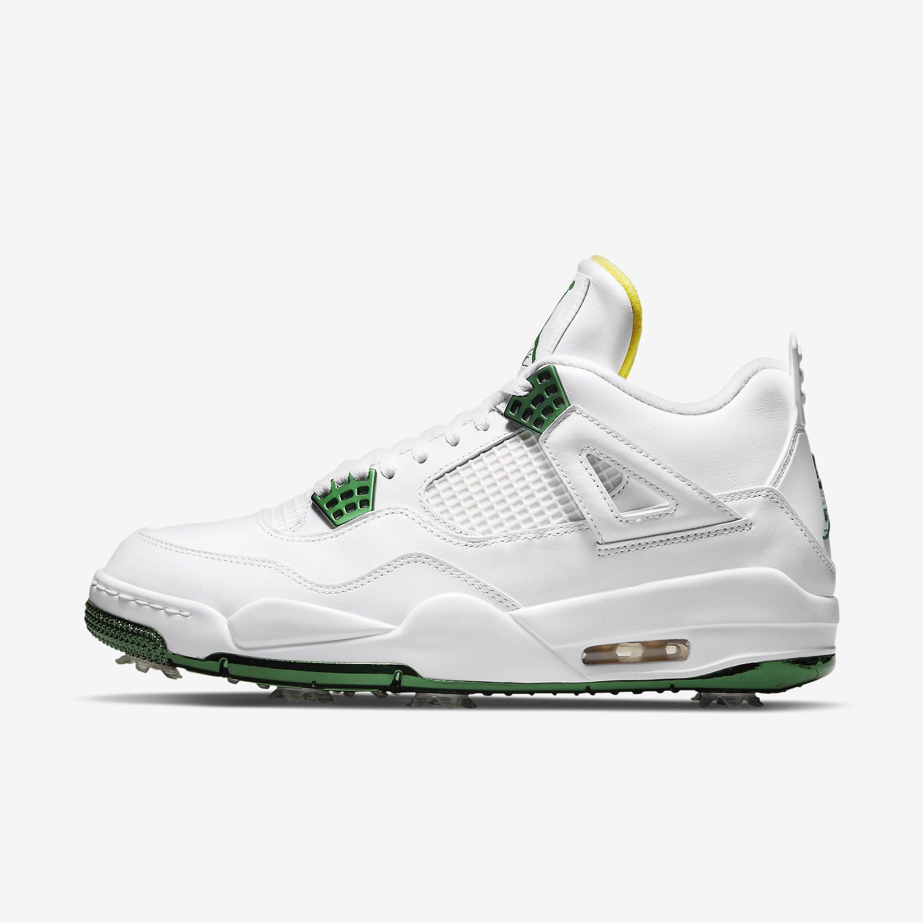 Jordan 4 G NRG 'White/Cyber'