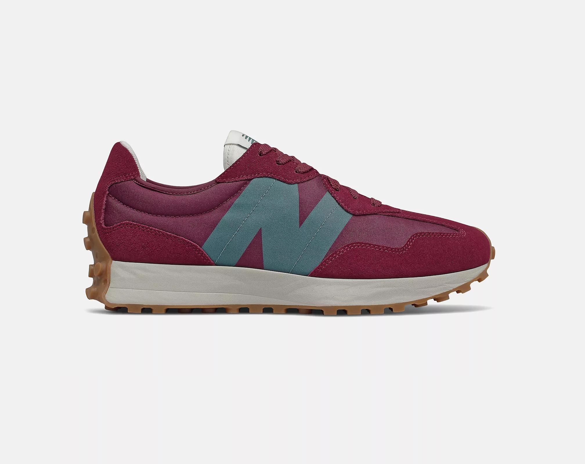 New Balance 327 'Garnet/Natural Indigo'