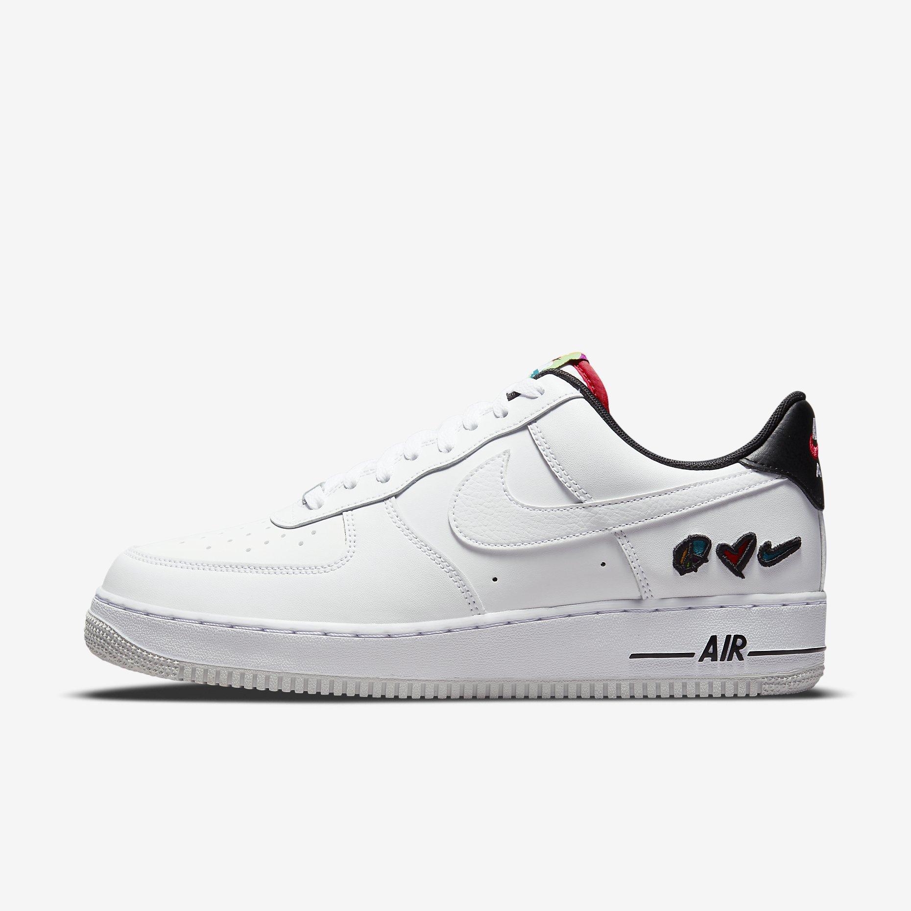 Nike Air Force 1 '07 LV8 'Peace, Love, Swoosh'