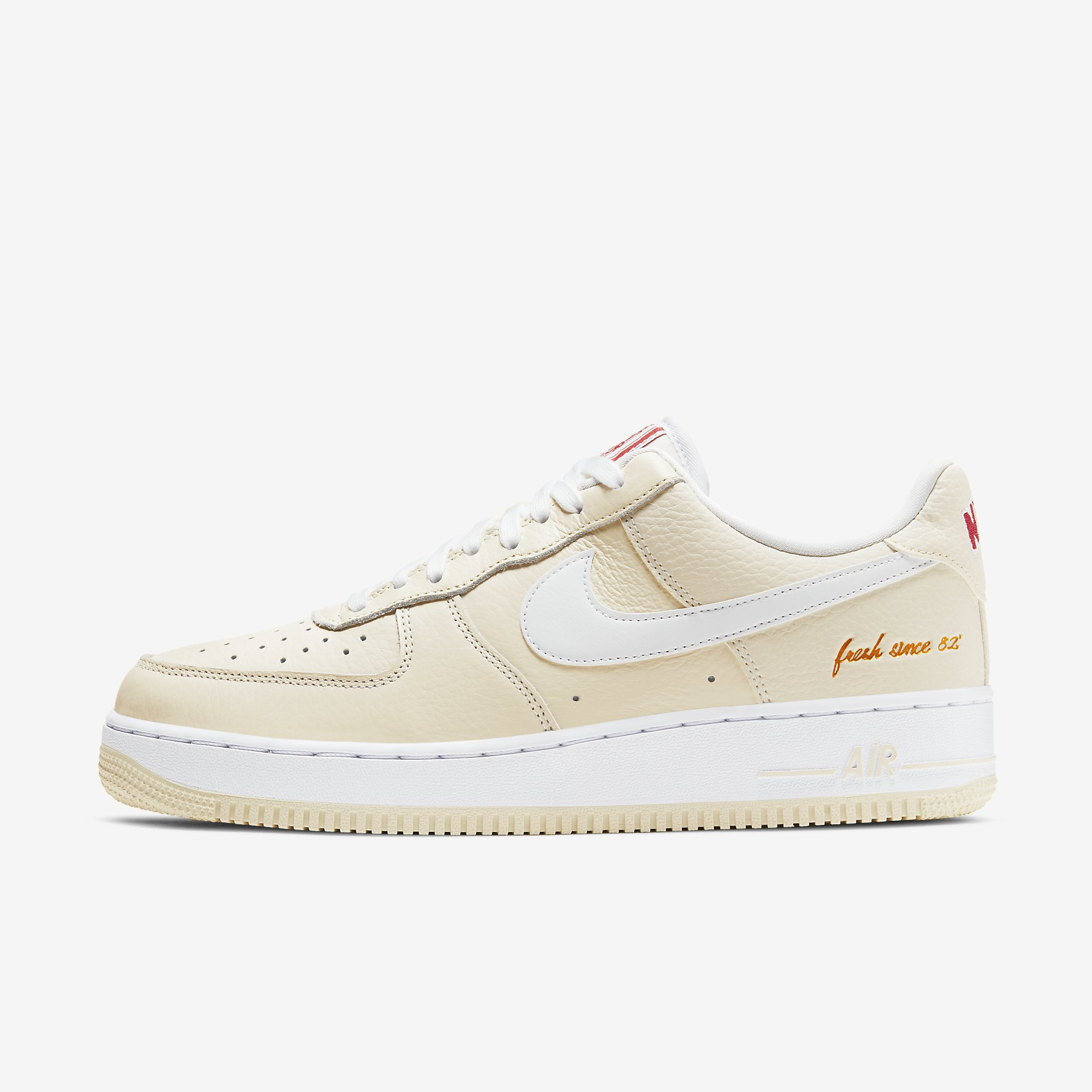 Nike Air Force 1 '07 Premium 'Popcorn'}