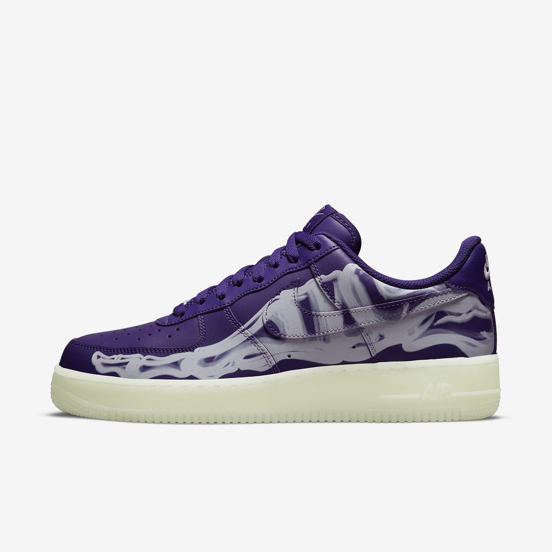 Nike Air Force 1 '07 Skeleton QS 'Court Purple'