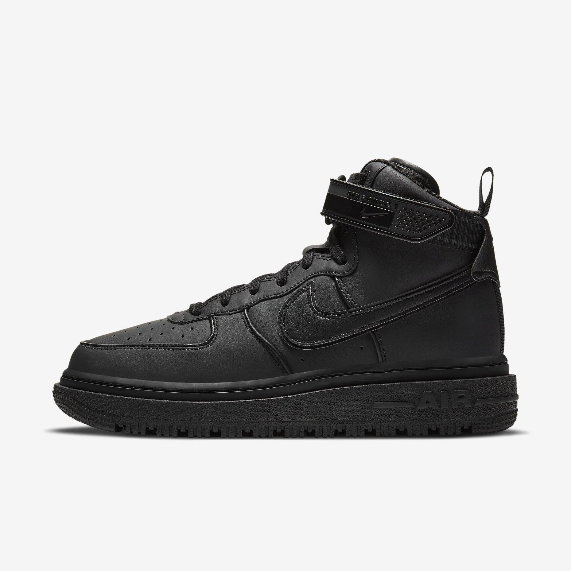 Nike Air Force 1 Boot 'Black'