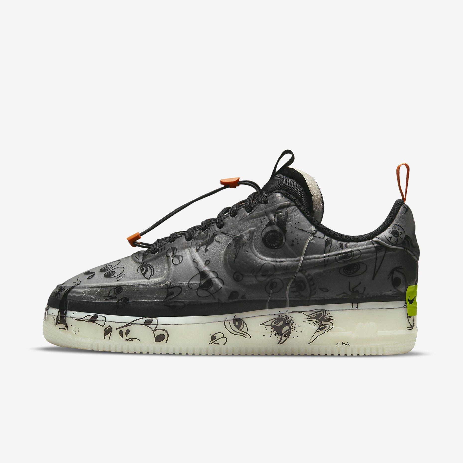 Nike Air Force 1 Experimental 'Halloween'
