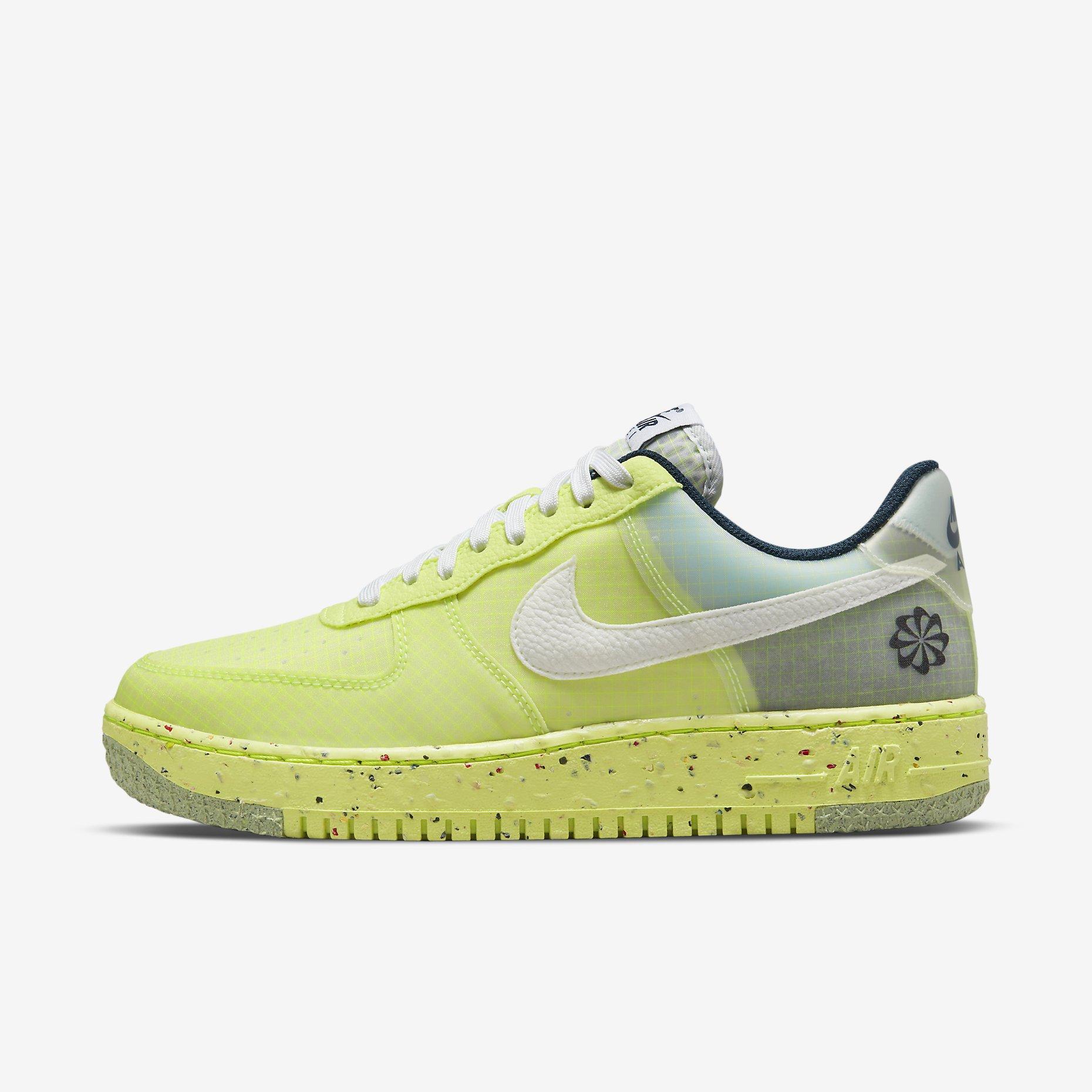 Nike Air Force 1 Low Crater 'Light Lemon Twist'