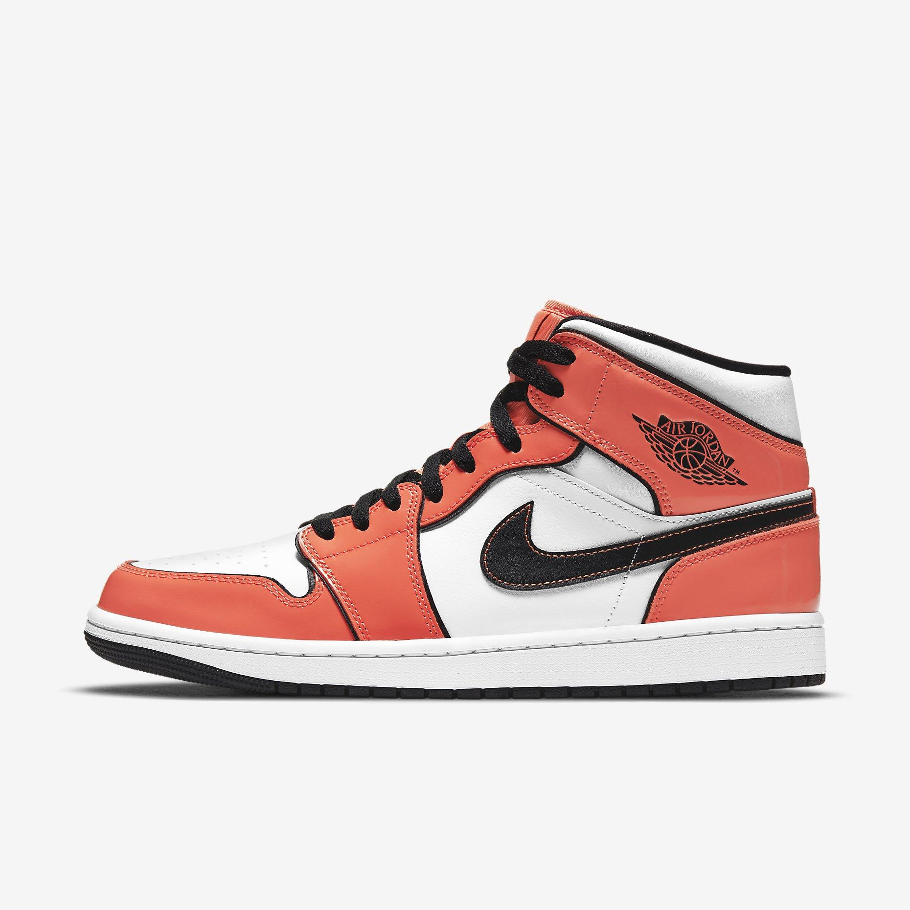 Air Jordan 1 Mid SE 'Turf Orange'}