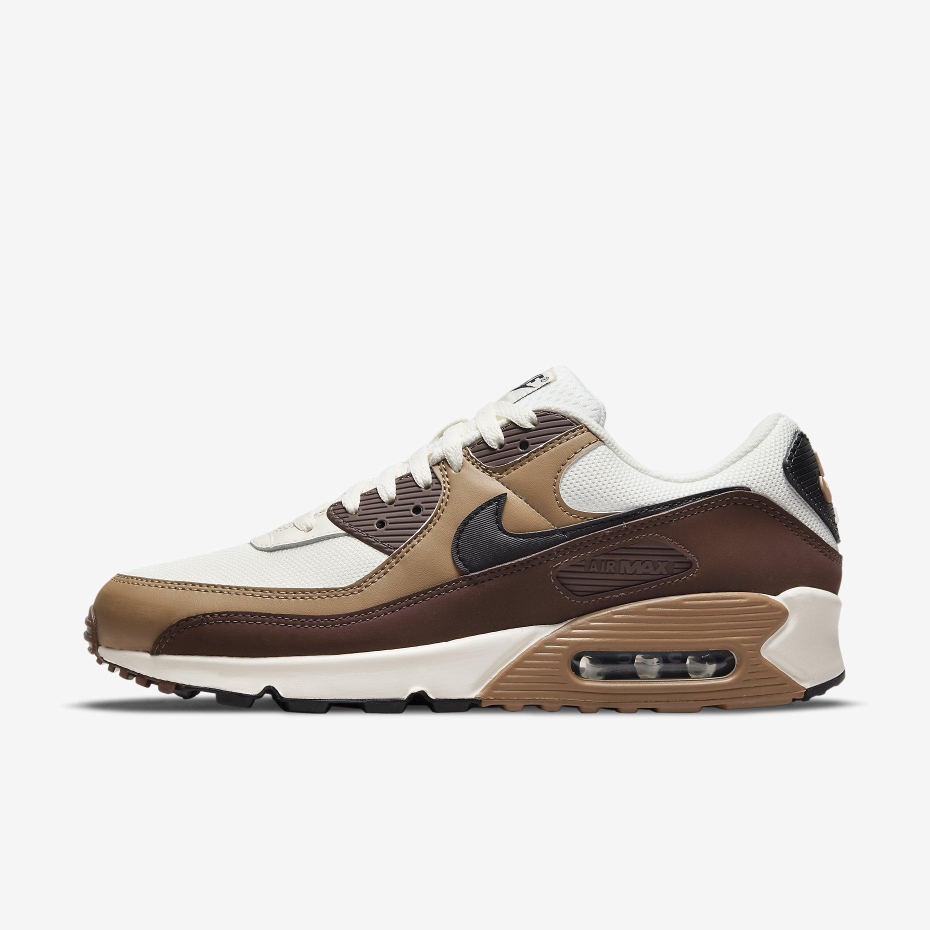 Nike Air Max 90 'Dark Driftwood/Light Chocolate'
