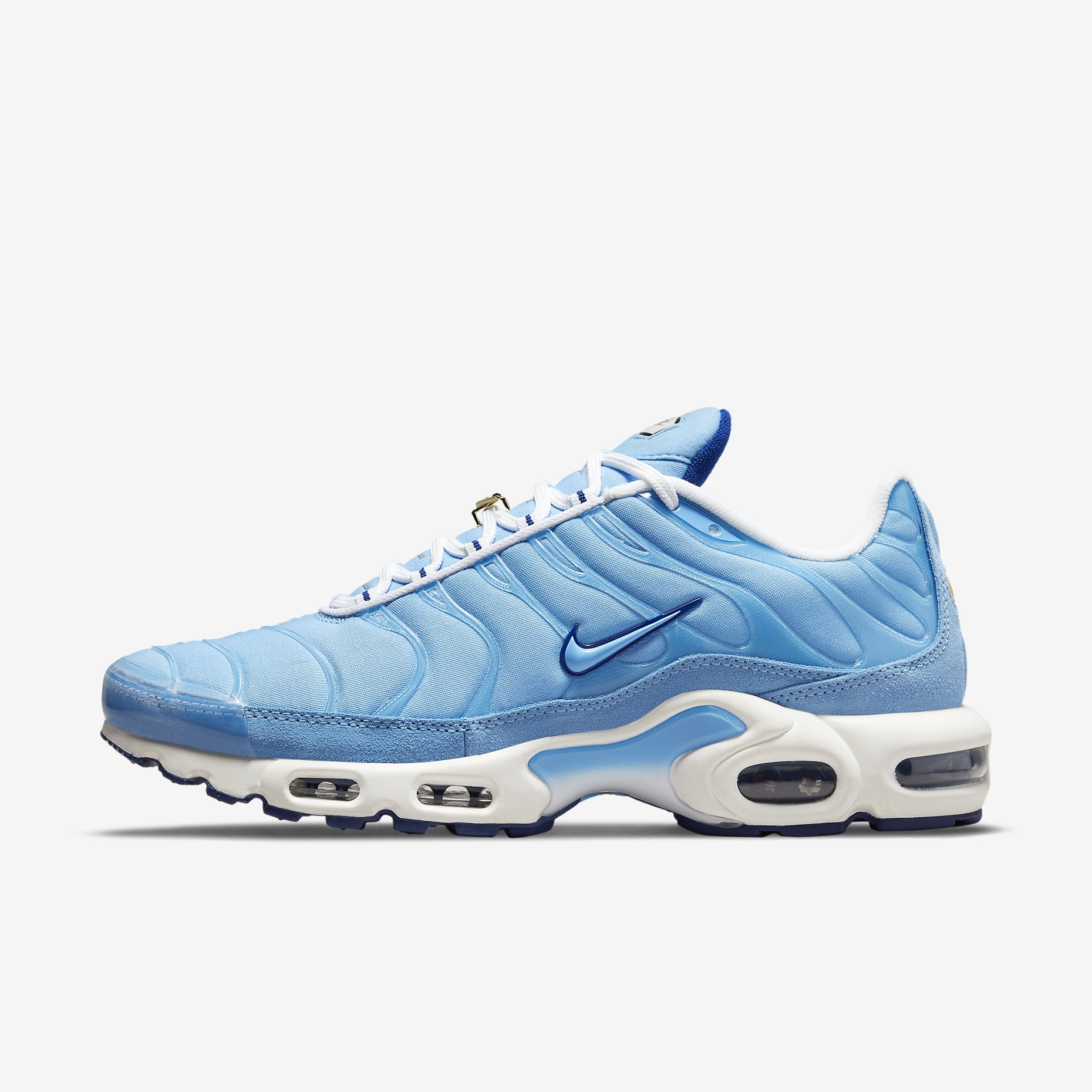 Nike Air Max Plus 'University Blue' - First Use