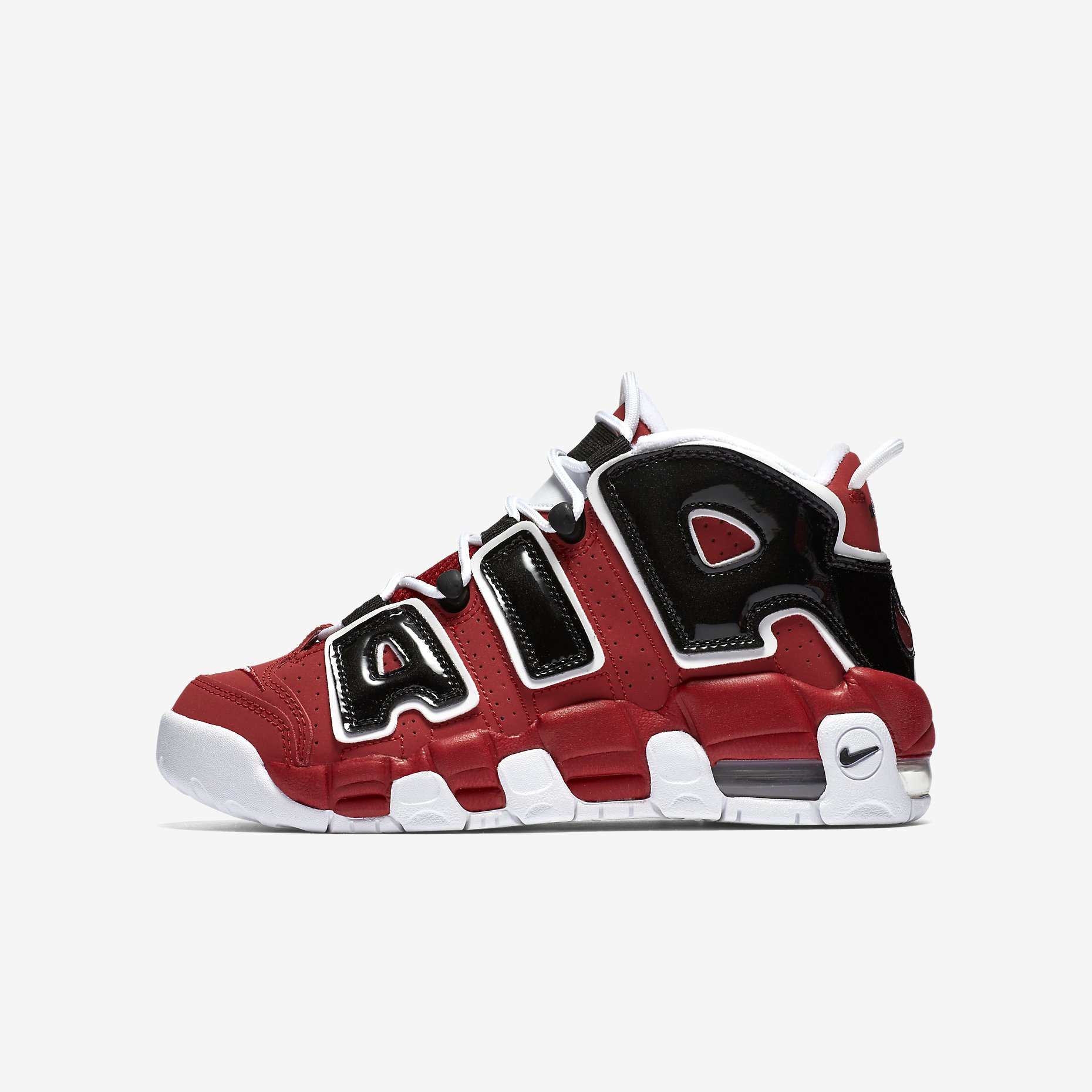 Nike Air More Uptempo GS 'Bulls'}