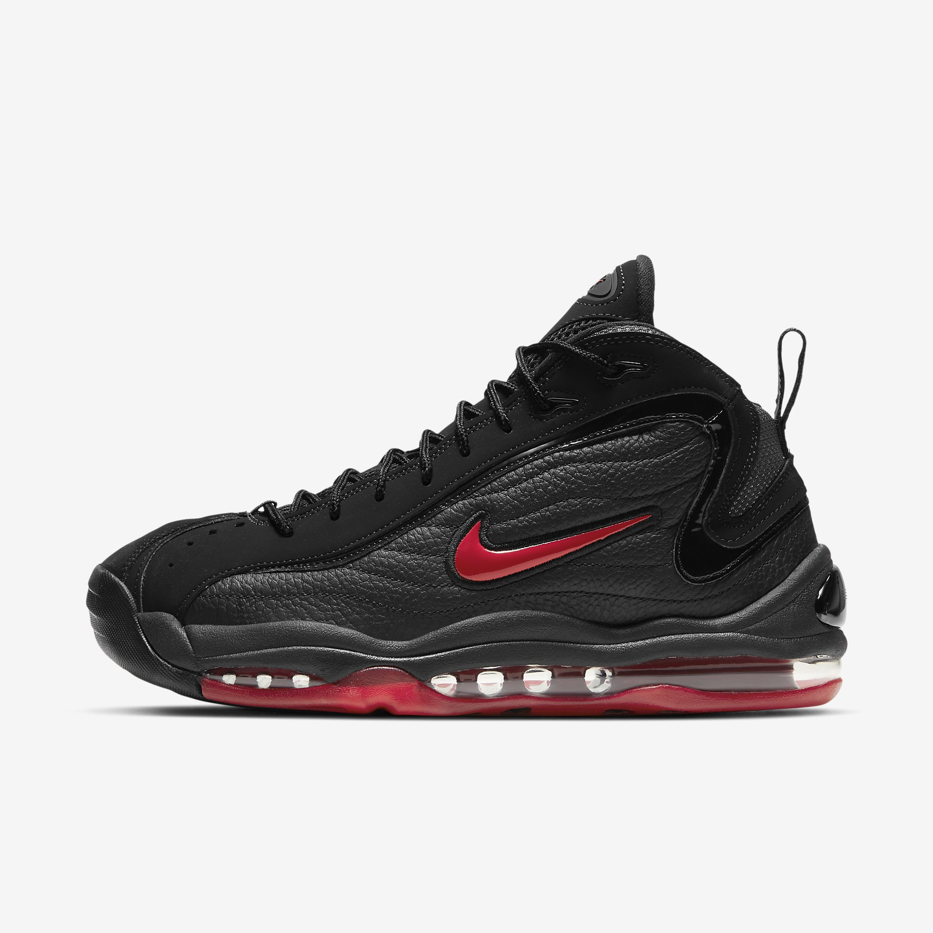 Nike Air Total Max Uptempo 'Black/Varsity Red'}