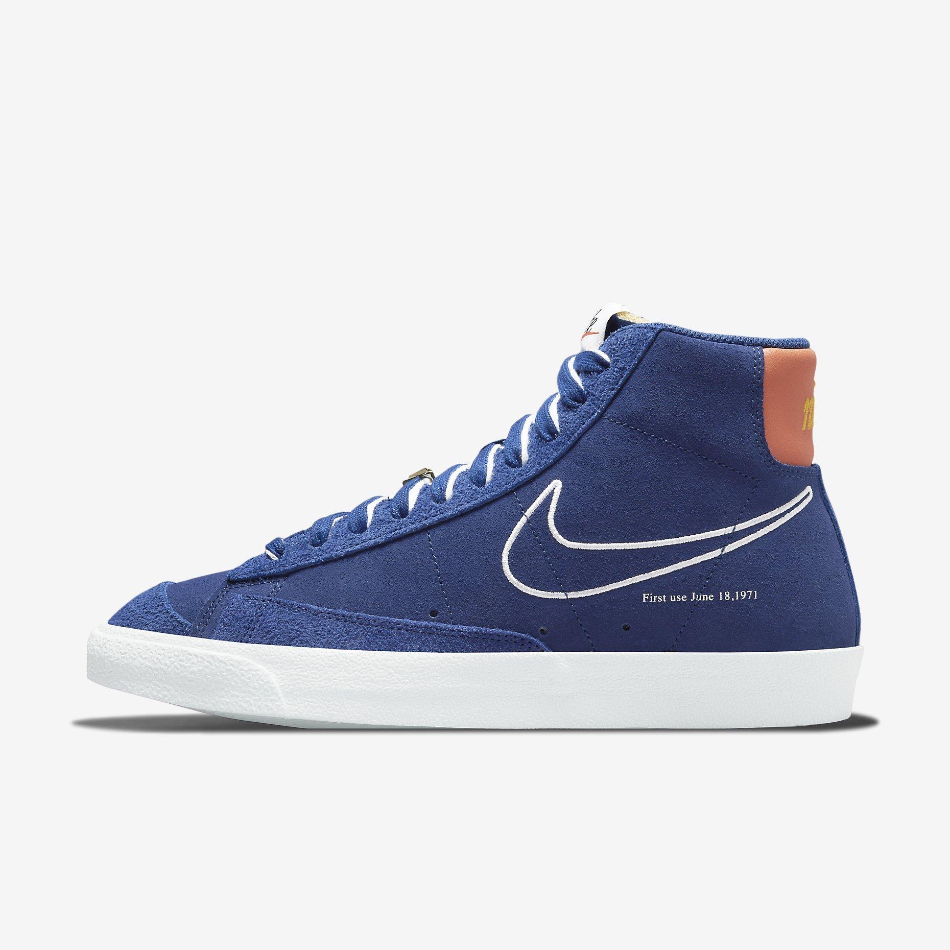 Nike Blazer Mid '77 'Deep Royal Blue' - First Use