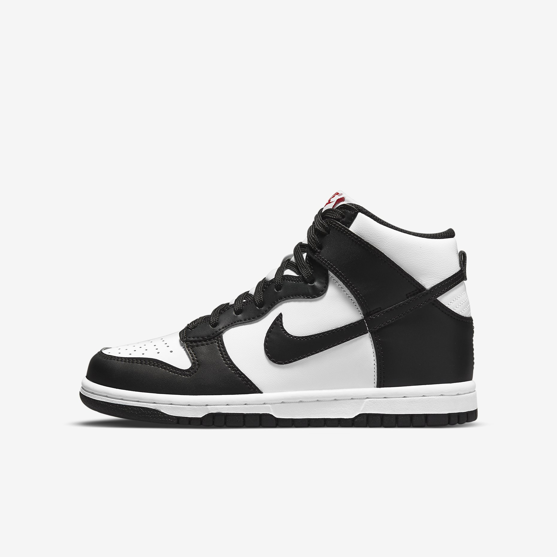 Nike Dunk High GS 'White/Black'}
