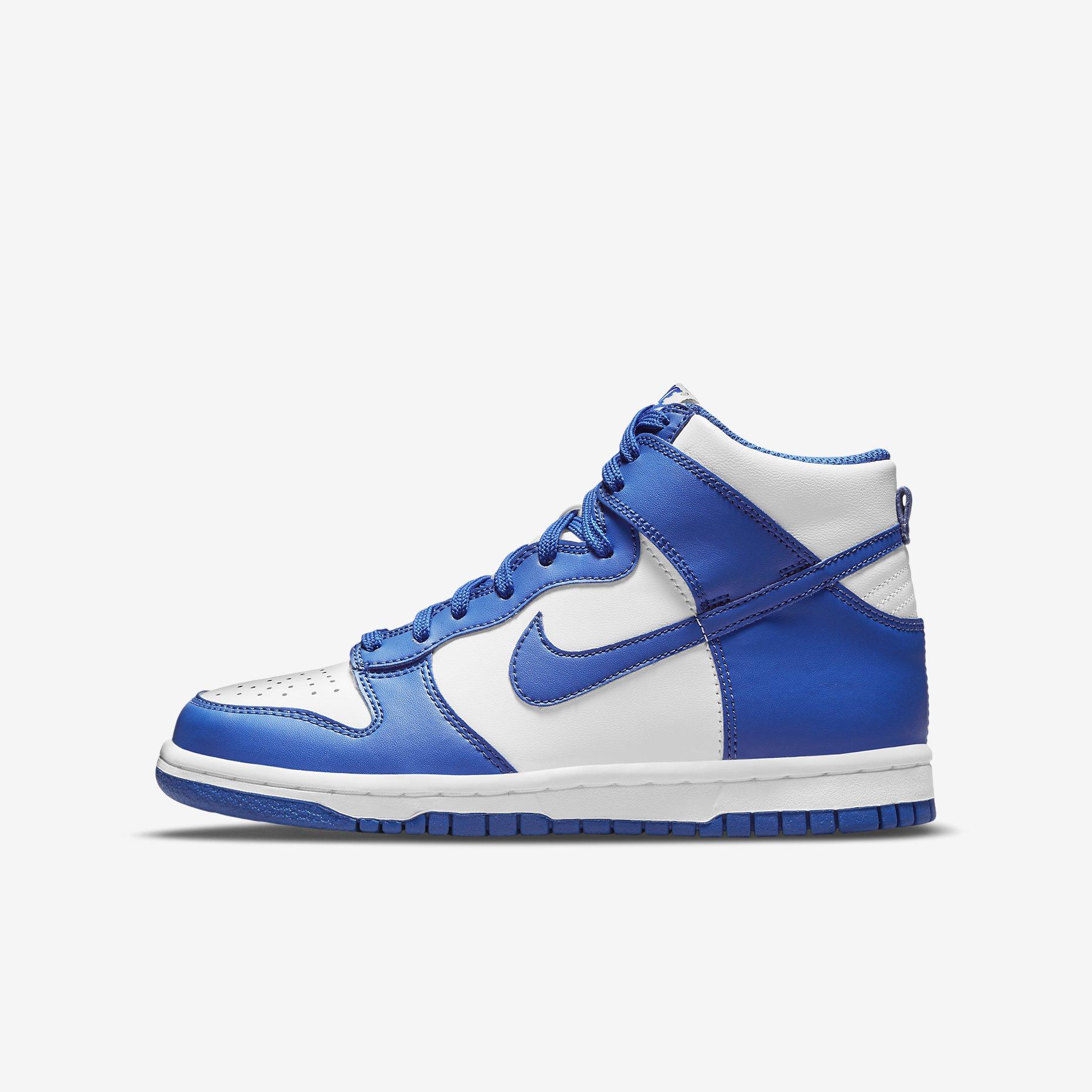 Nike Dunk High GS 'Game Royal'