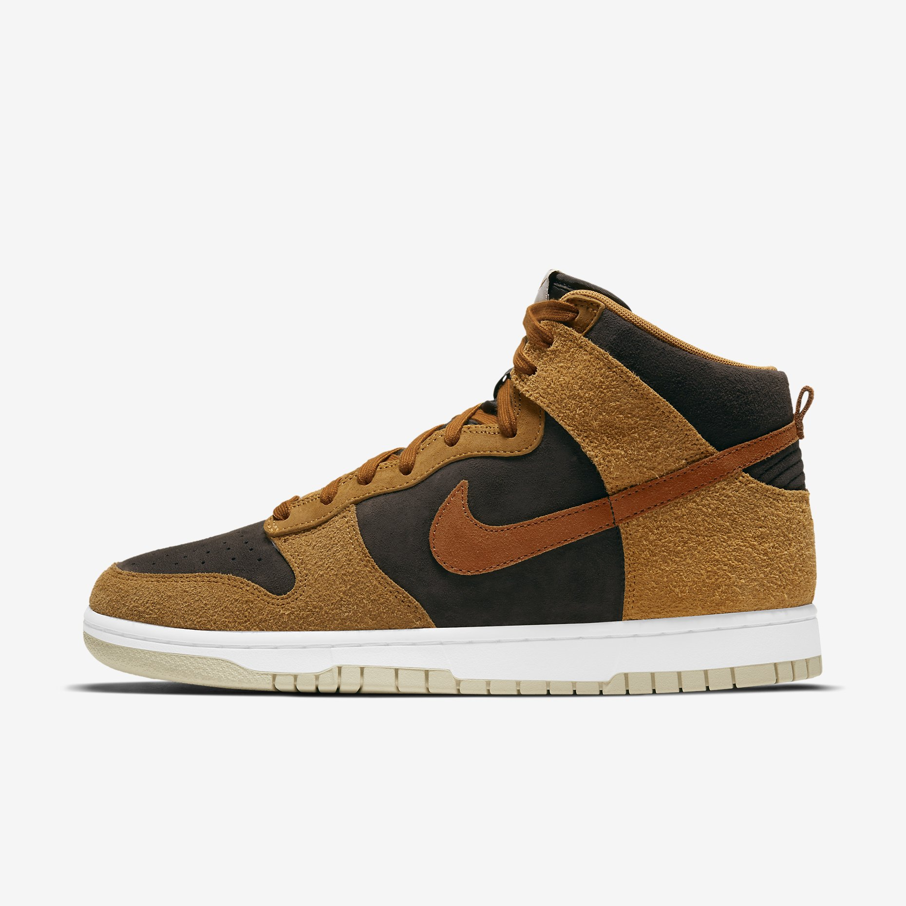 Nike Dunk High PRM 'Dark Russet'}
