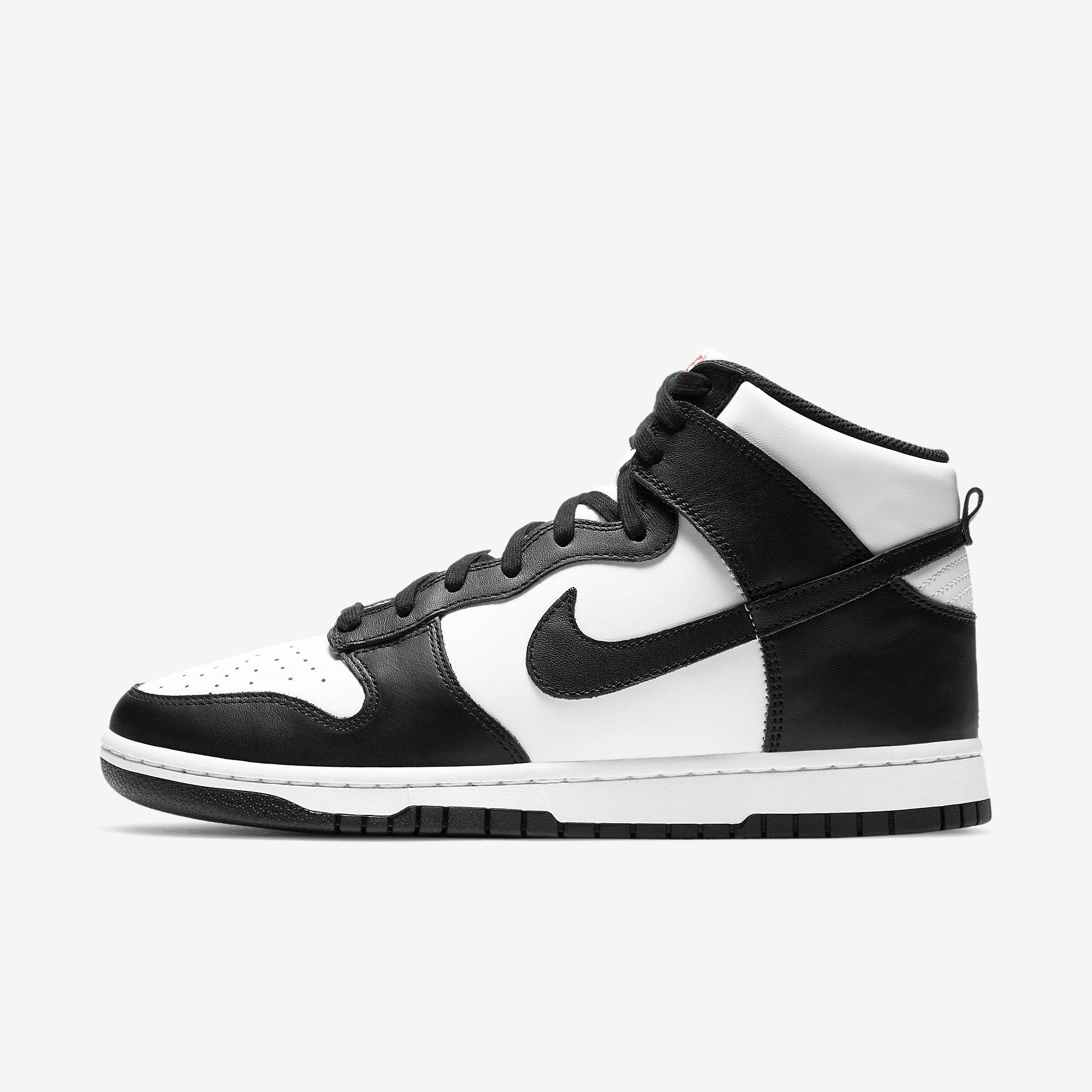 Nike Dunk High Retro 'White/Black'}