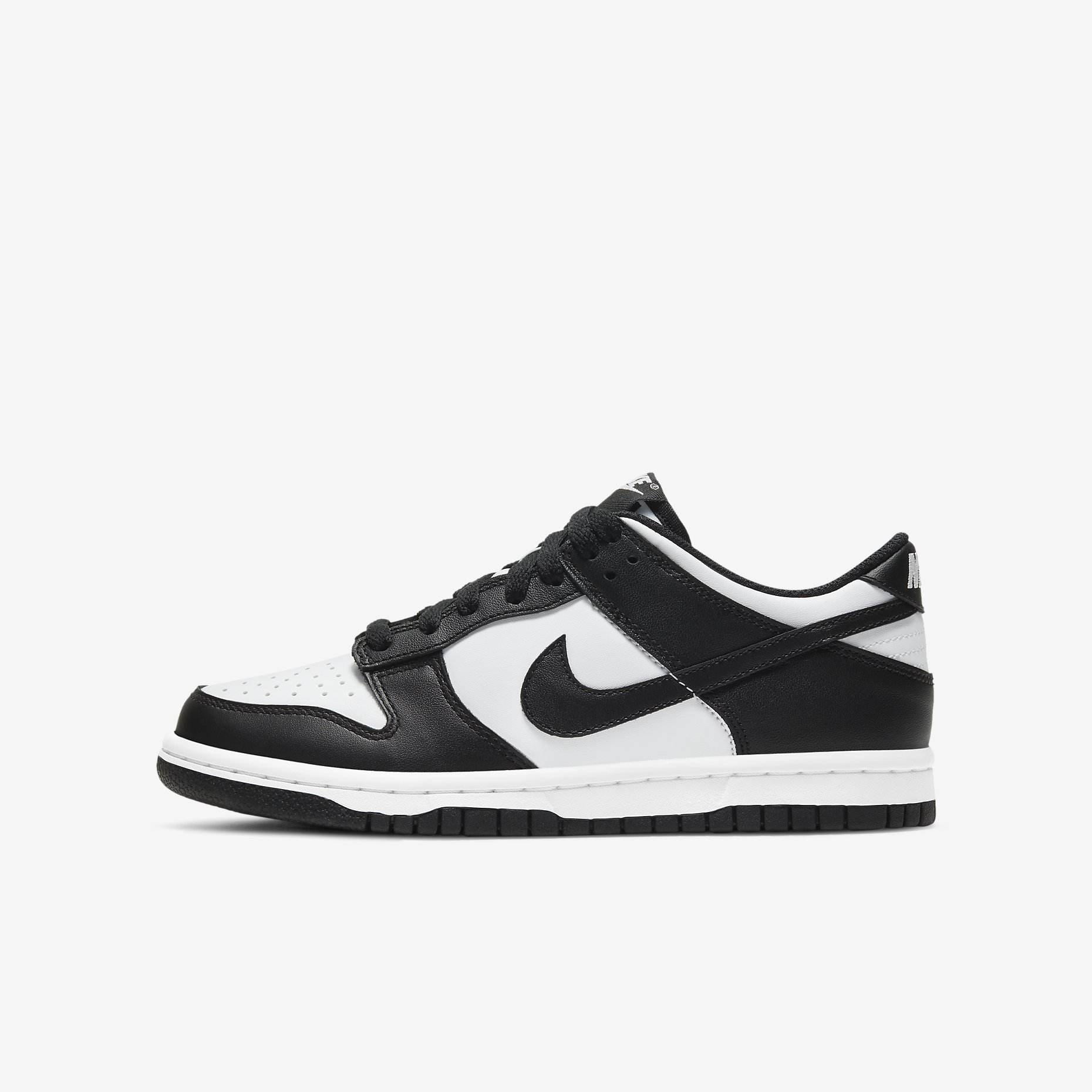 Nike Dunk Low GS 'Black/White'}