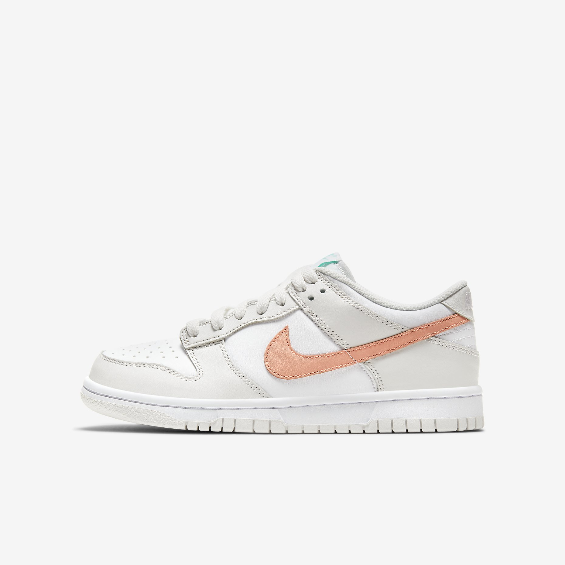 Nike Dunk Low GS 'Platinum Tint/Crimson Bliss'}