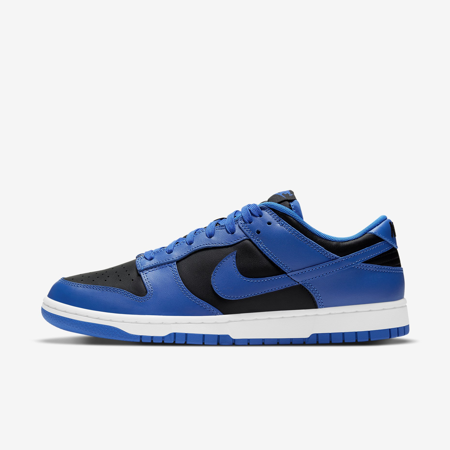 Nike Dunk Low Retro 'Black Hyper Cobalt' 2021}
