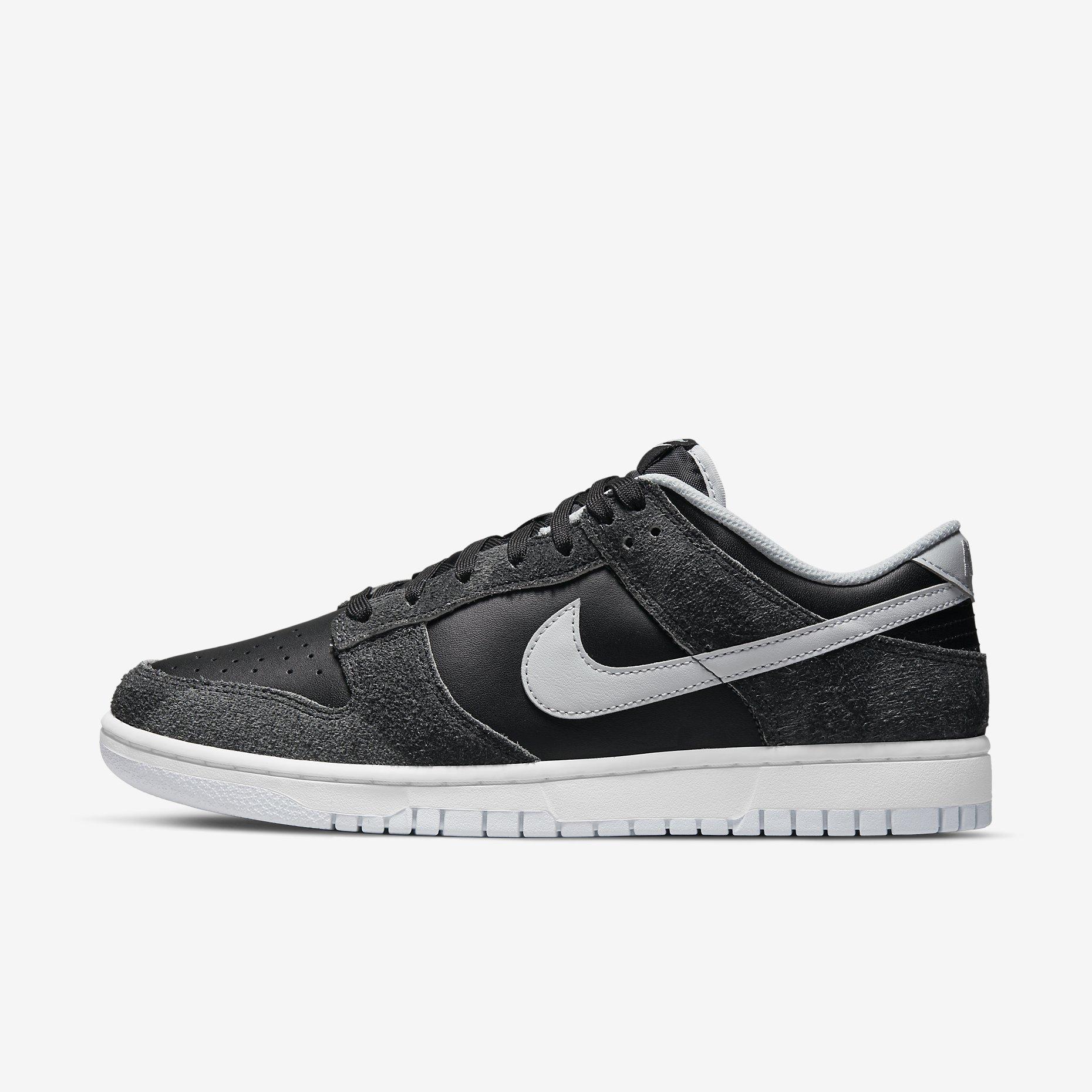 Nike Dunk Low Retro PRM 'Zebra'}