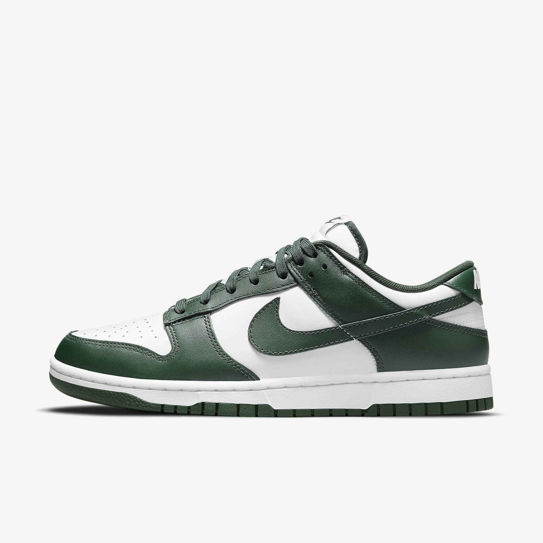 Nike Dunk Low 'White/Team Green'}