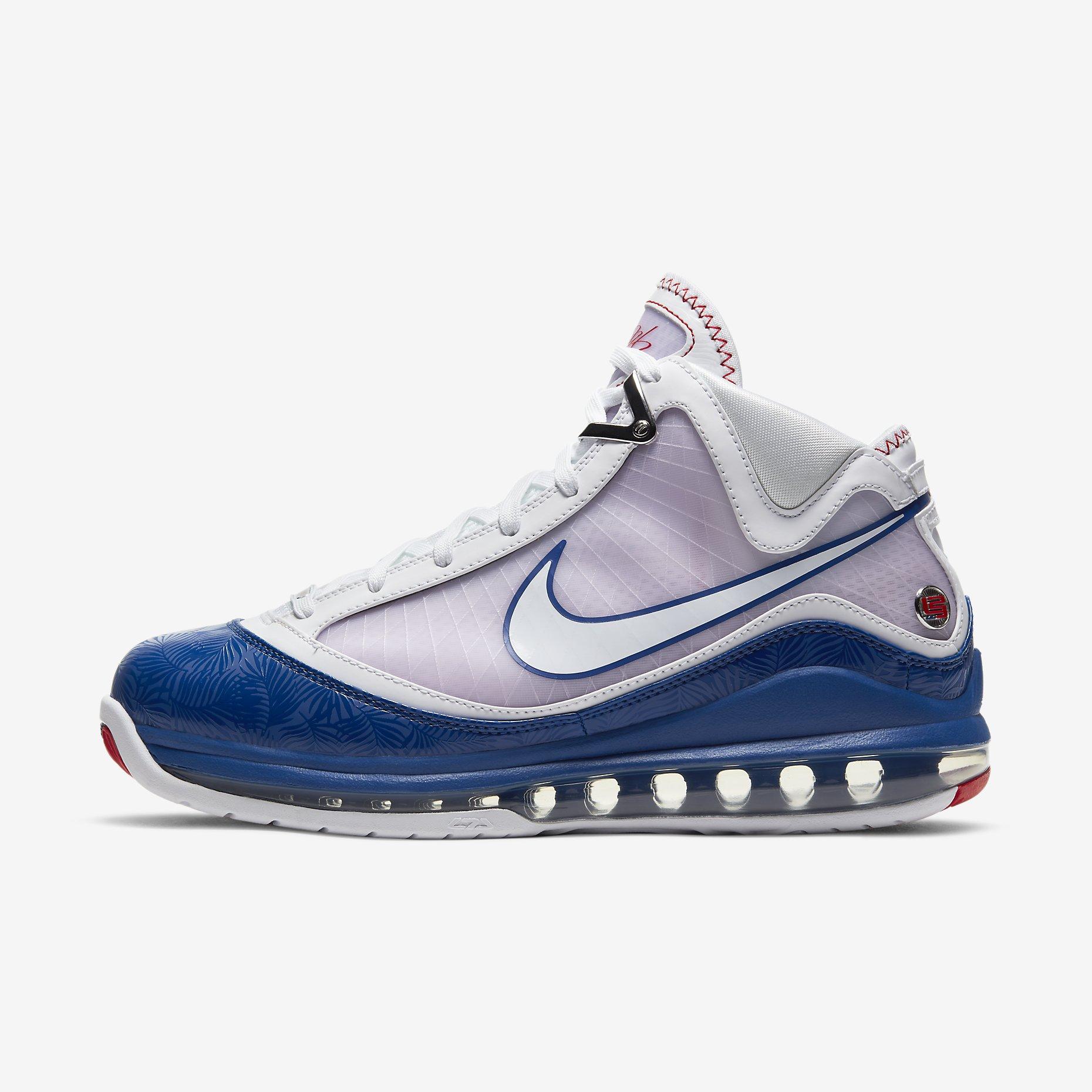 Nike LeBron 7 'Baseball Blue'}