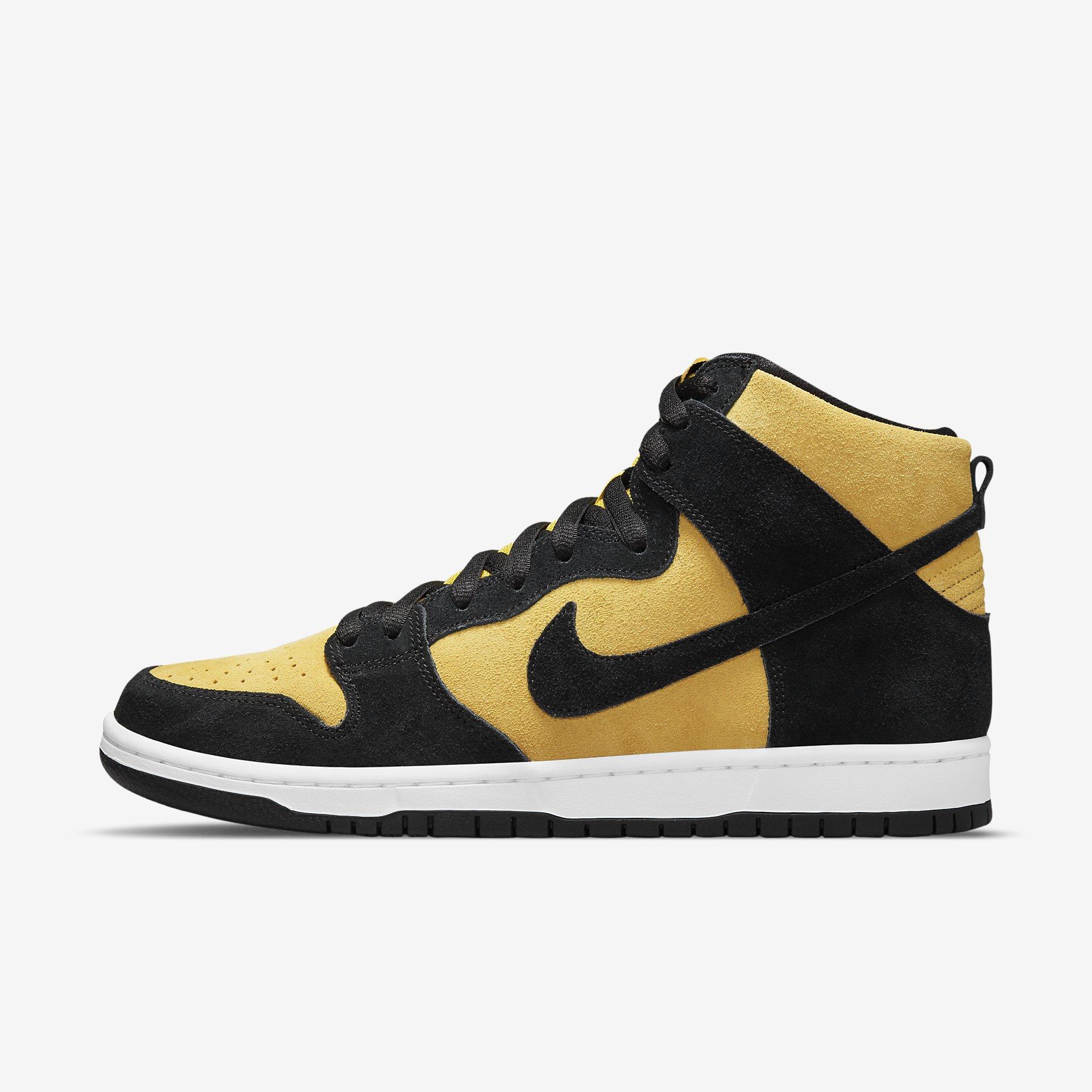 Nike SB Dunk High Pro 'Maize and Black'}