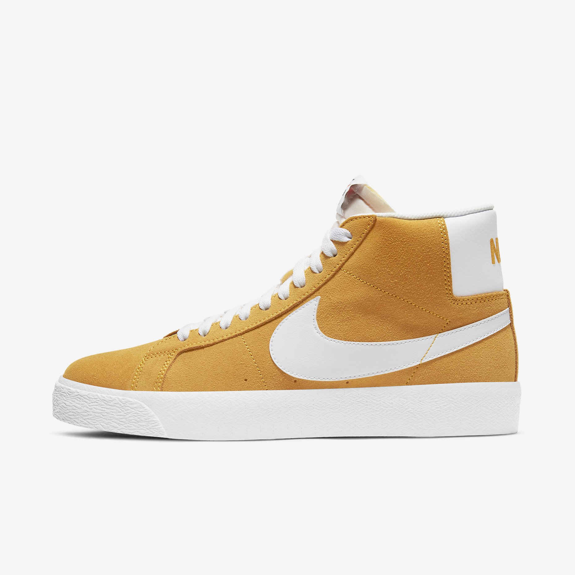 Nike SB Zoom Blazer Mid 'University Gold/White'