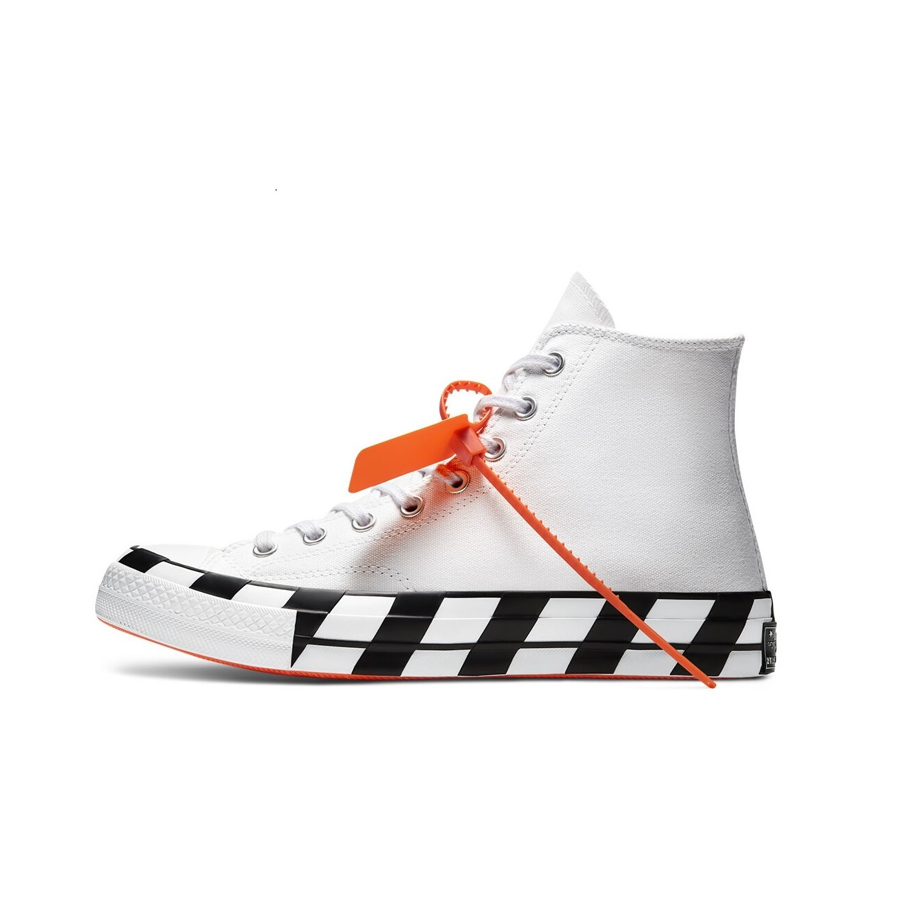 Off-White x Converse Chuck 70 High 'White Cone Black'}