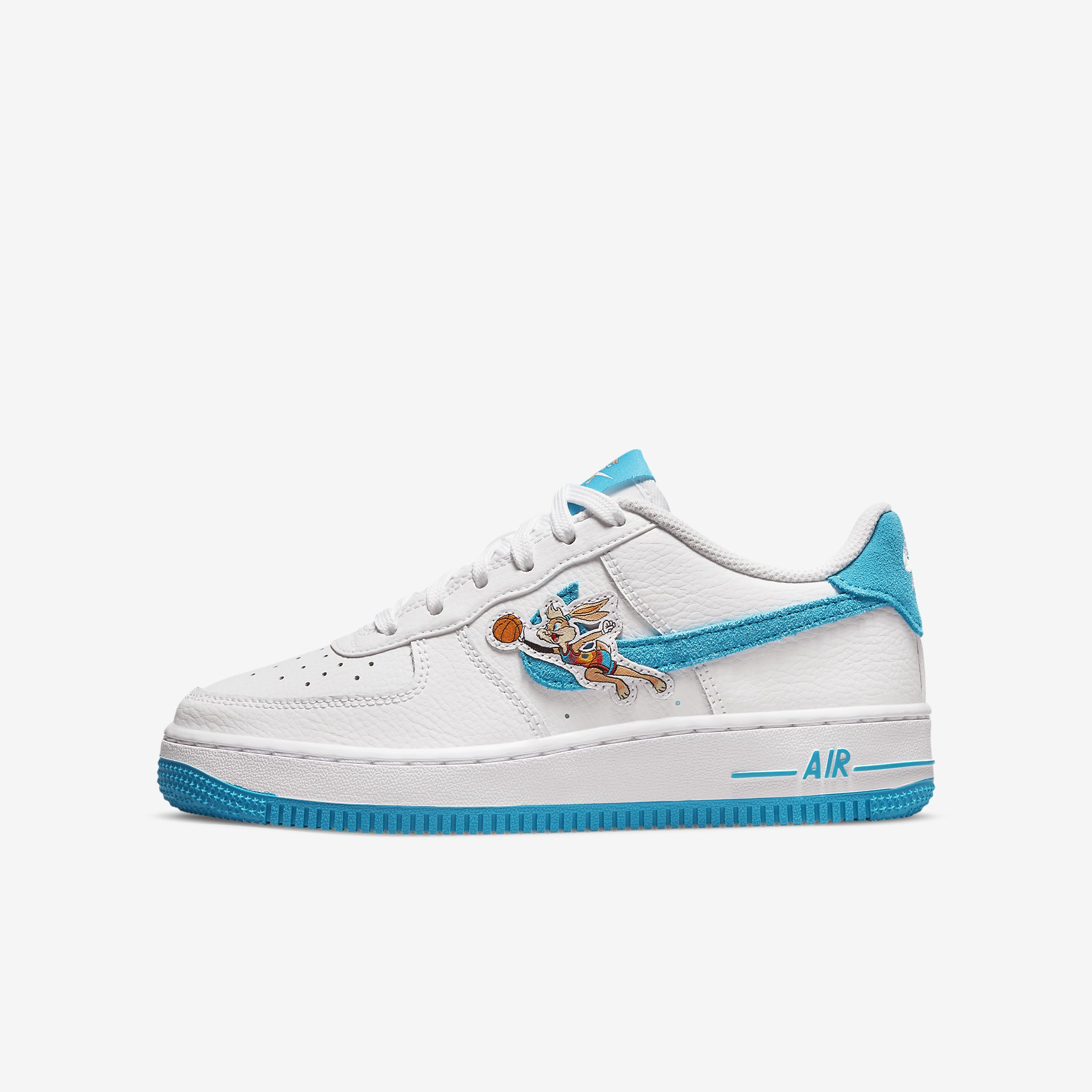 Space Jam x Nike Air Force 1 GS 'Hare'