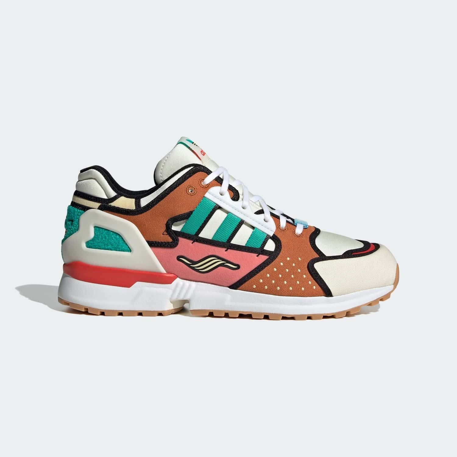 The Simpsons x adidas Originals ZX 10000 'Krusty Burger' - A-ZX Series}