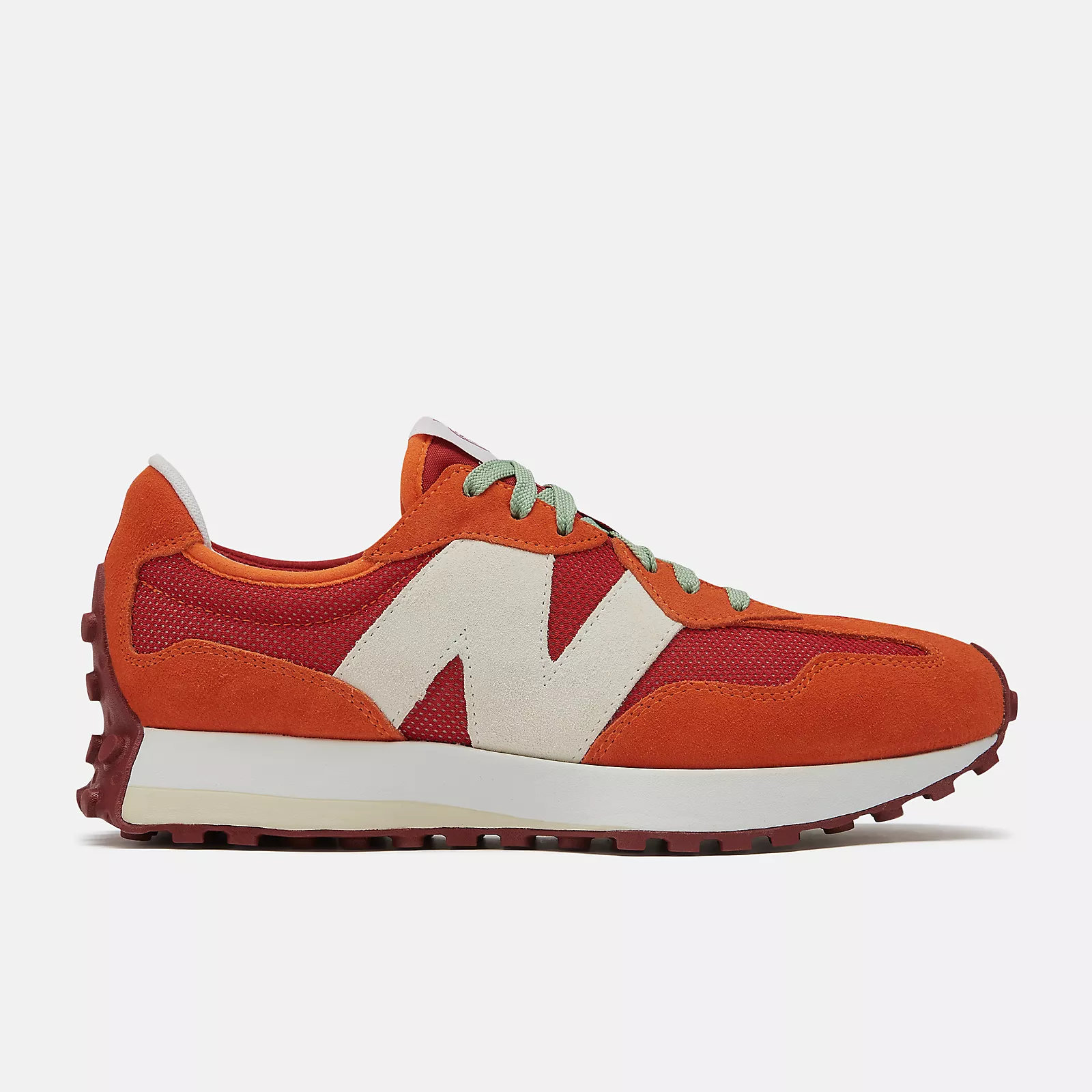 Todd Snyder x New Balance 327 'Ghost Pepper/Velocity Red'