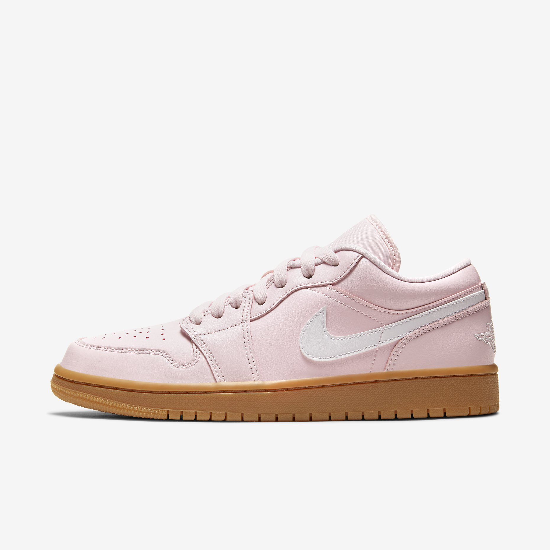 Women's Air Jordan 1 Low 'Arctic Pink Gum Light Brown'}