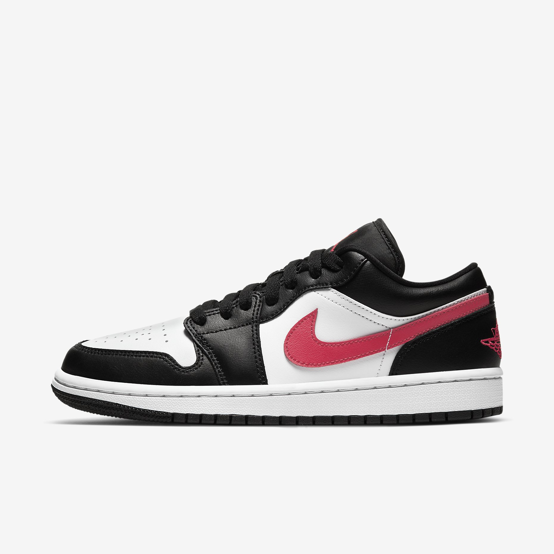 Women's Air Jordan 1 Low 'Black/Siren Red'}