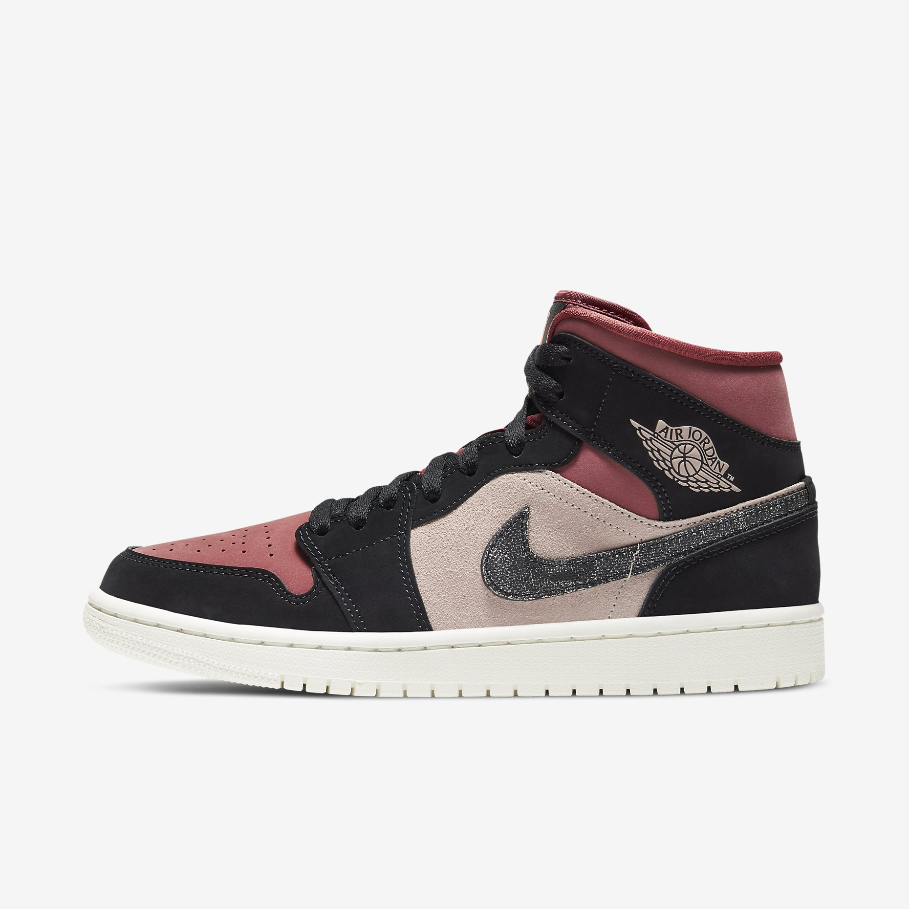 Women's Air Jordan 1 Mid 'Canyon Rust'}